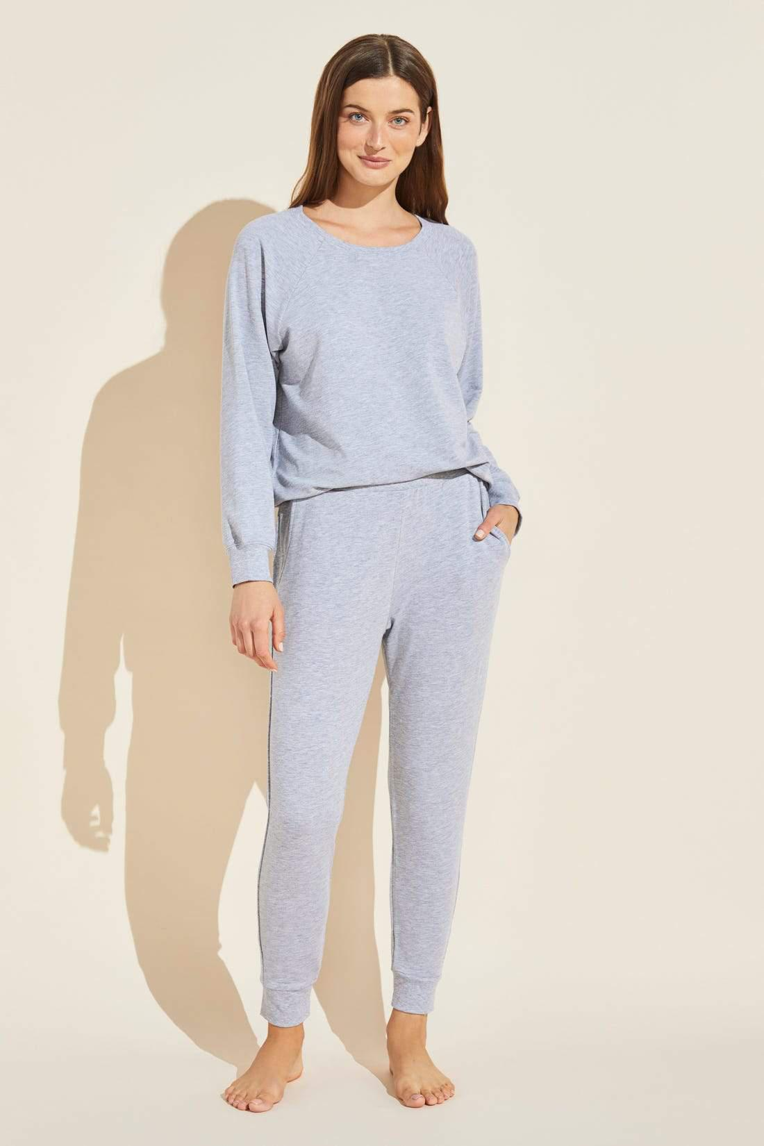 Blair French Terry Pant - Heather Grey