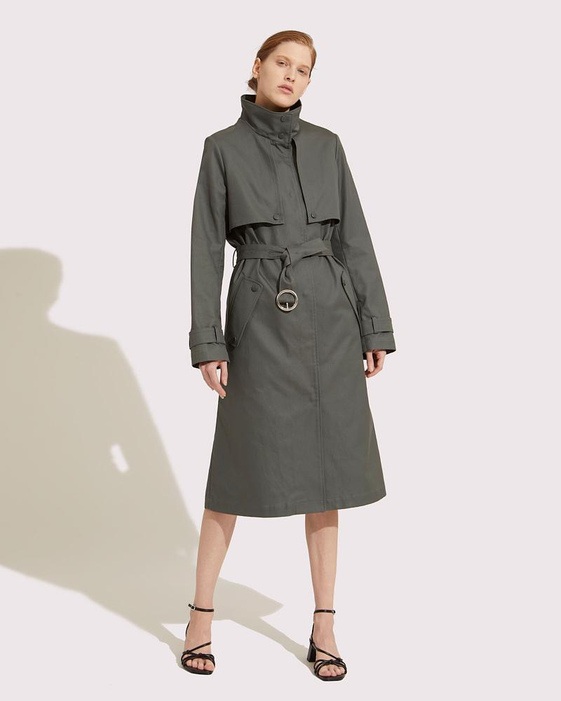 Trench coat fitted