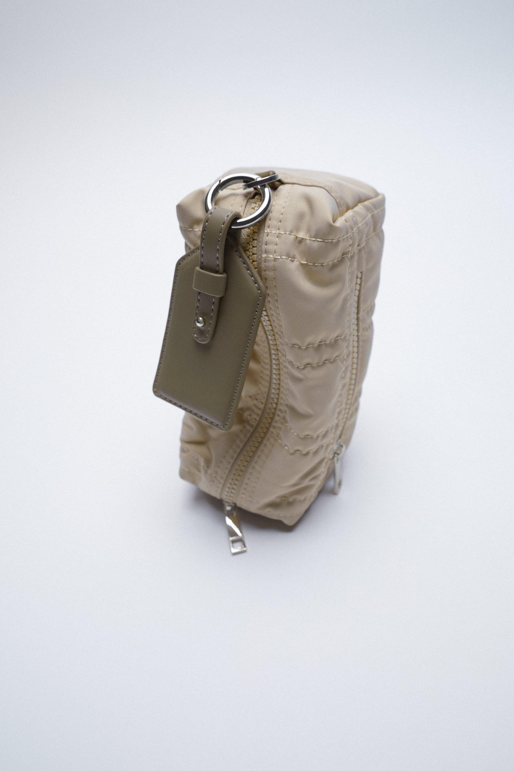 NYLON TOILETRY BAG WITH TOPSTITCHING 2