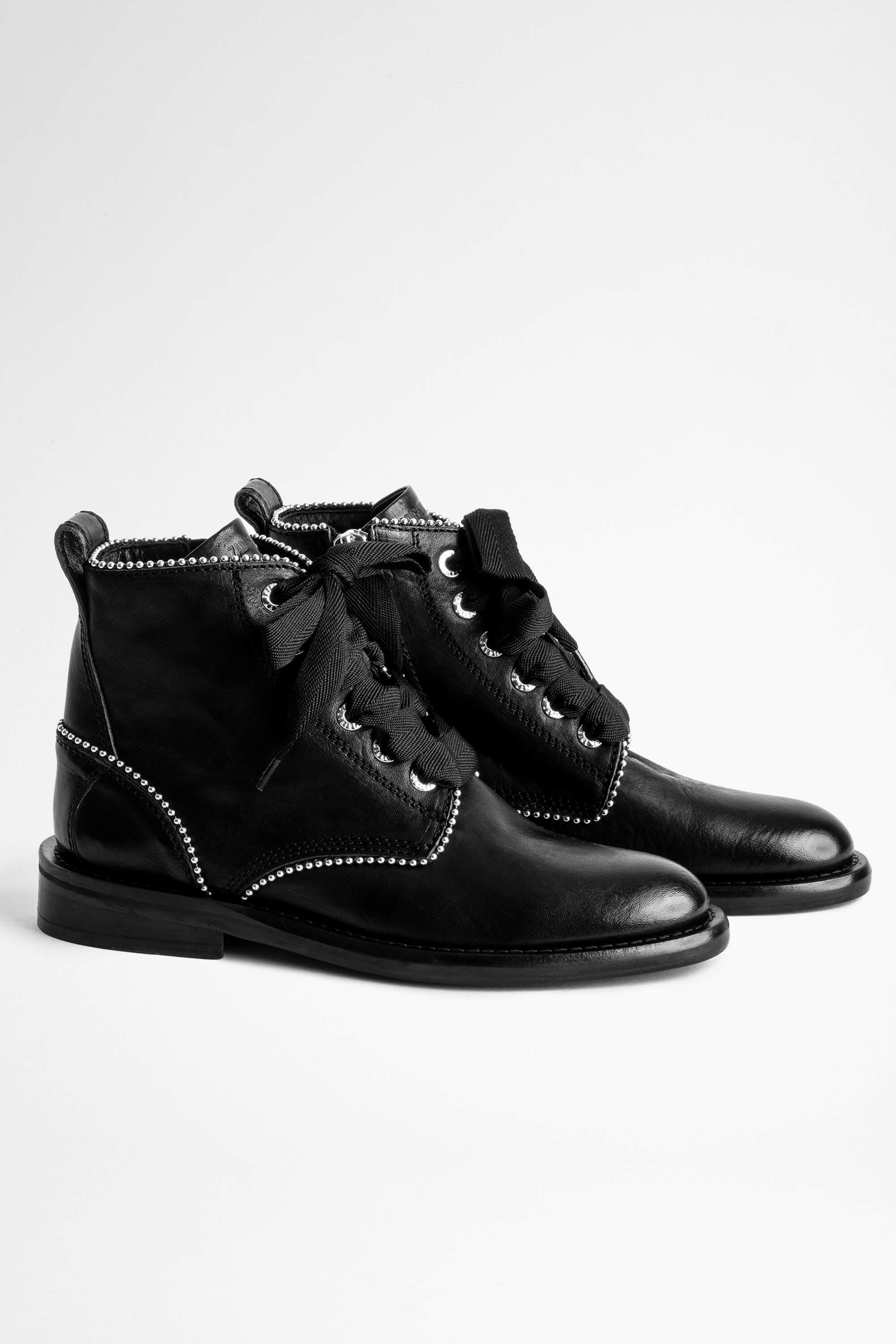 Laureen Roma Studs Ankle Boots 2
