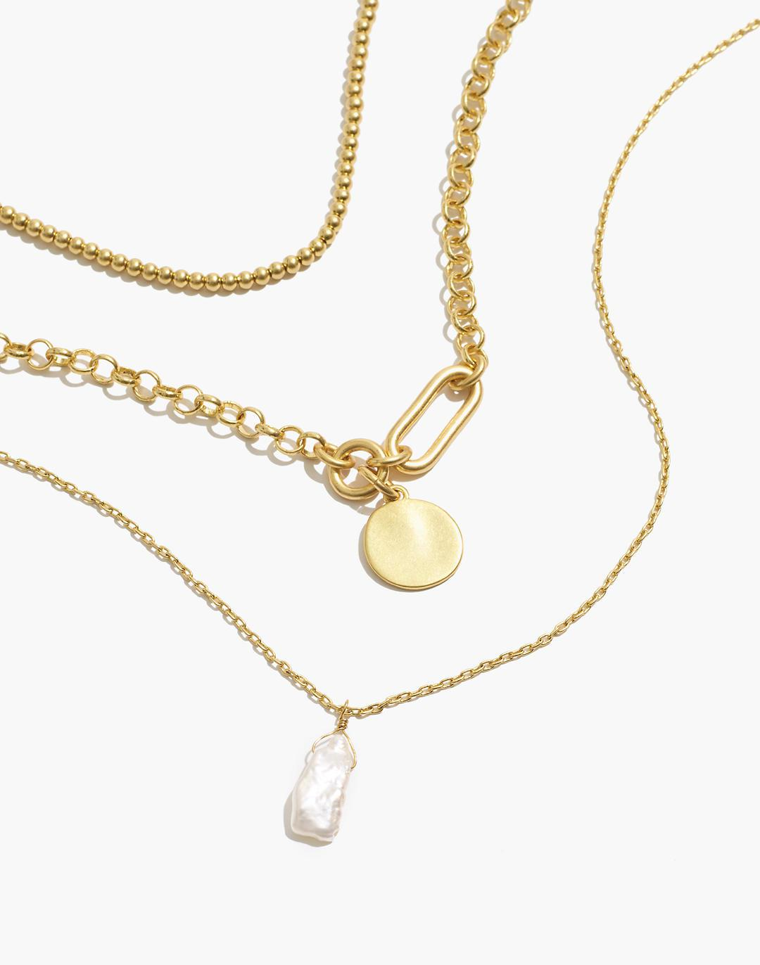 Freshwater Pearl Drop Necklace Set