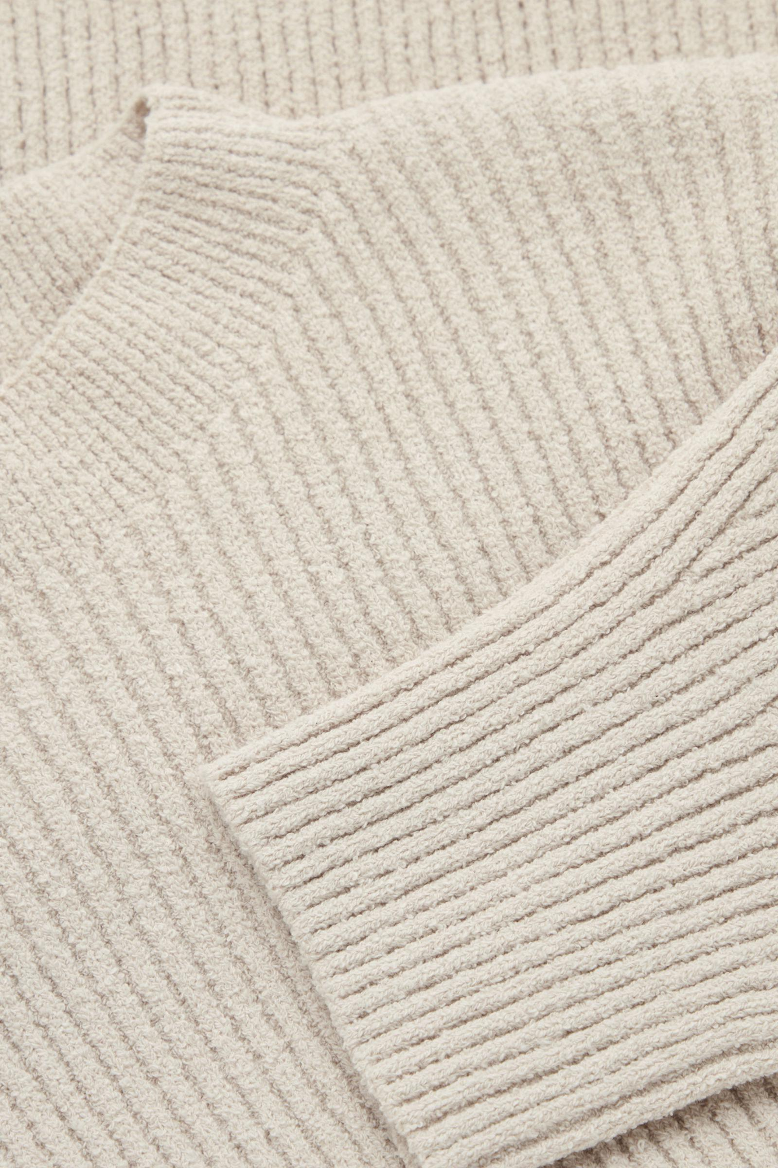 RIBBED KNITTED JUMPER 8