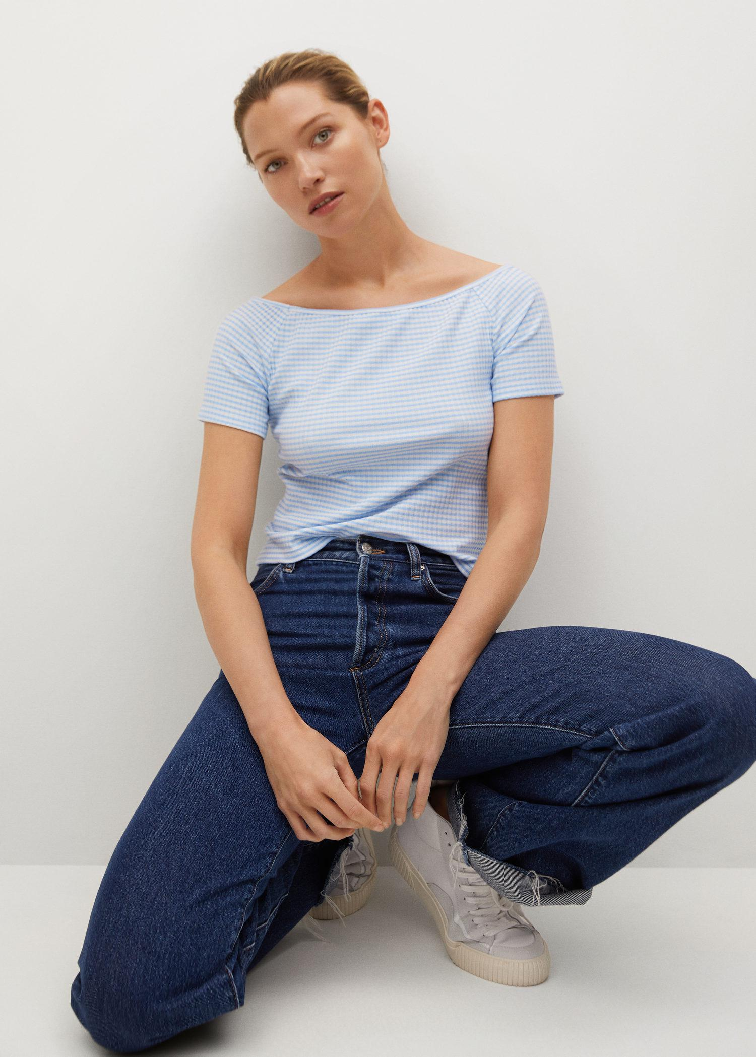 Crop t-shirt recycled polyester dress 3