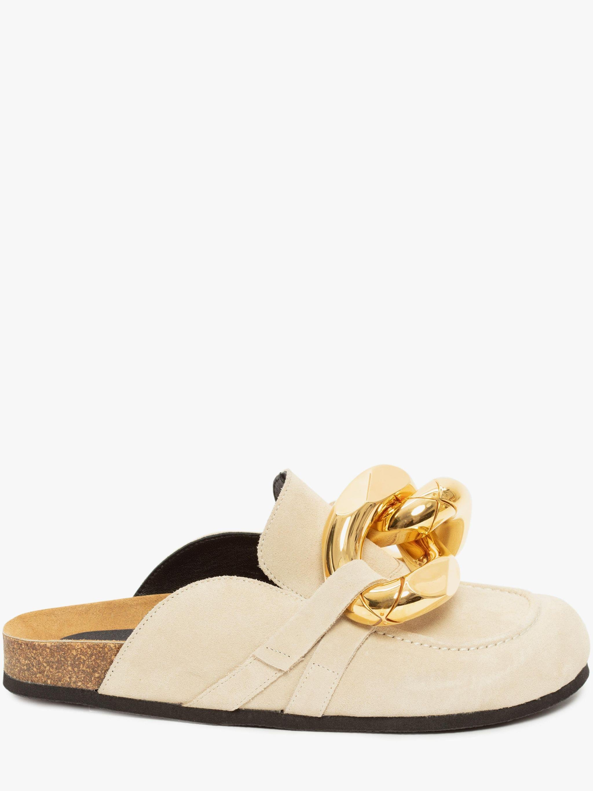 WOMEN'S SUEDE LOAFER MULES