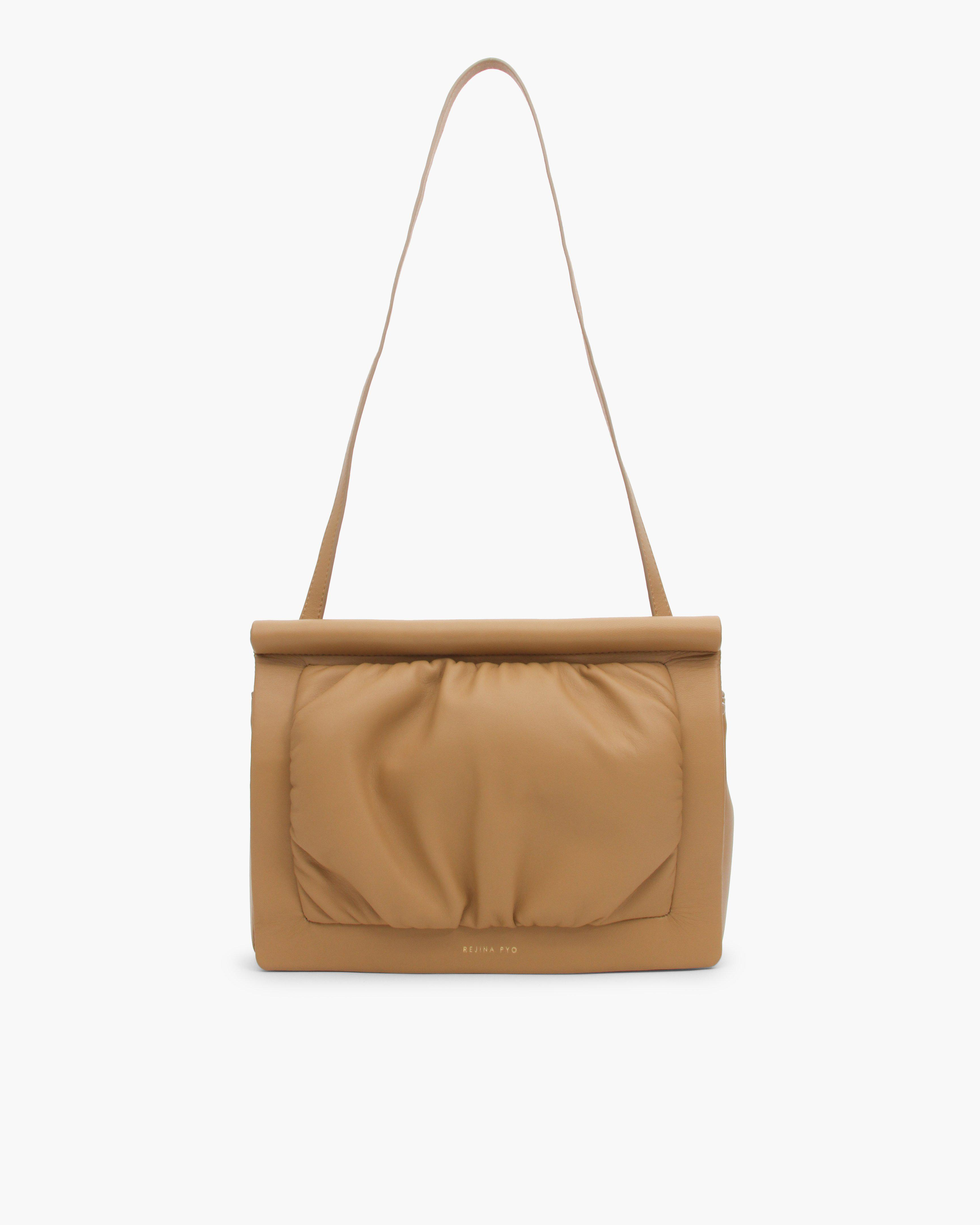 Cleo Bag Leather Almond