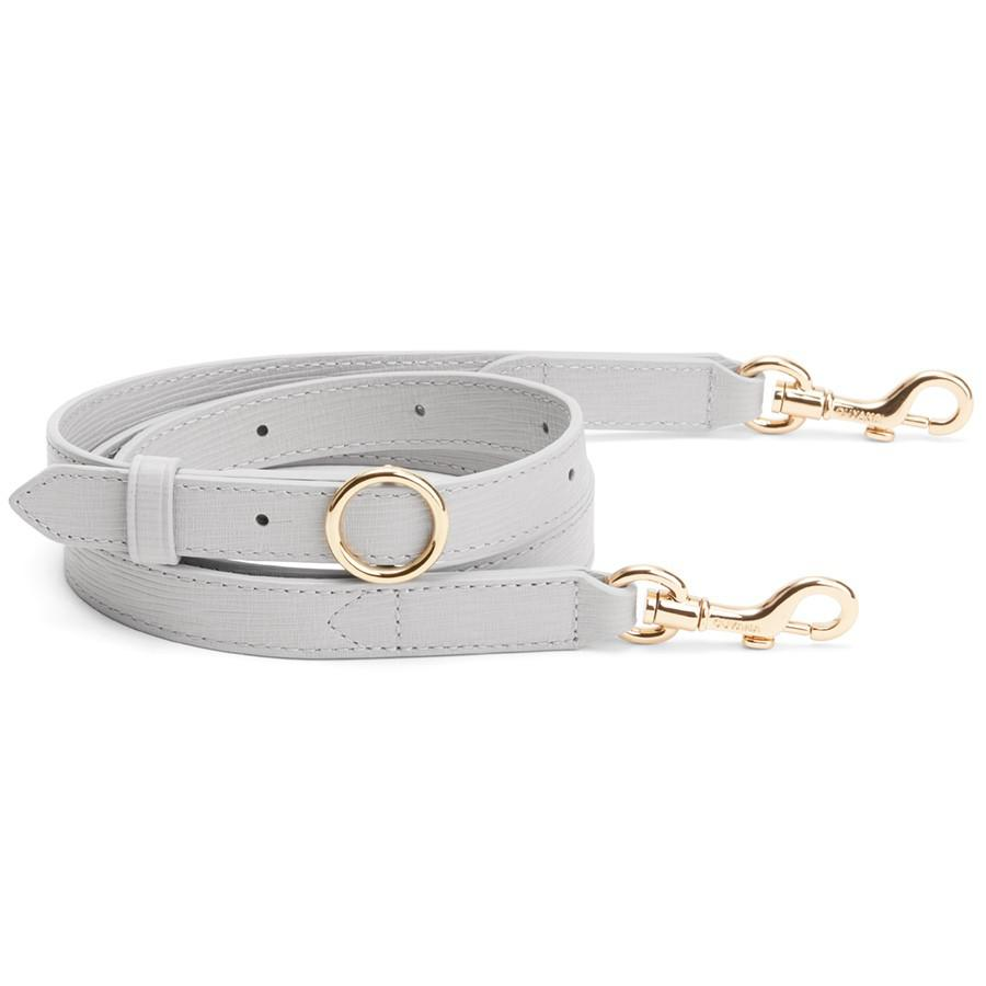 Women's Adjustable Strap in Perla | Textured Leather by Cuyana