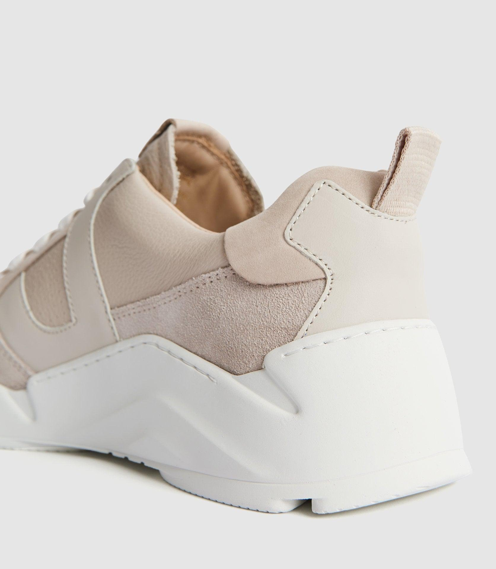 SHELTON - LEATHER TRAINERS 4