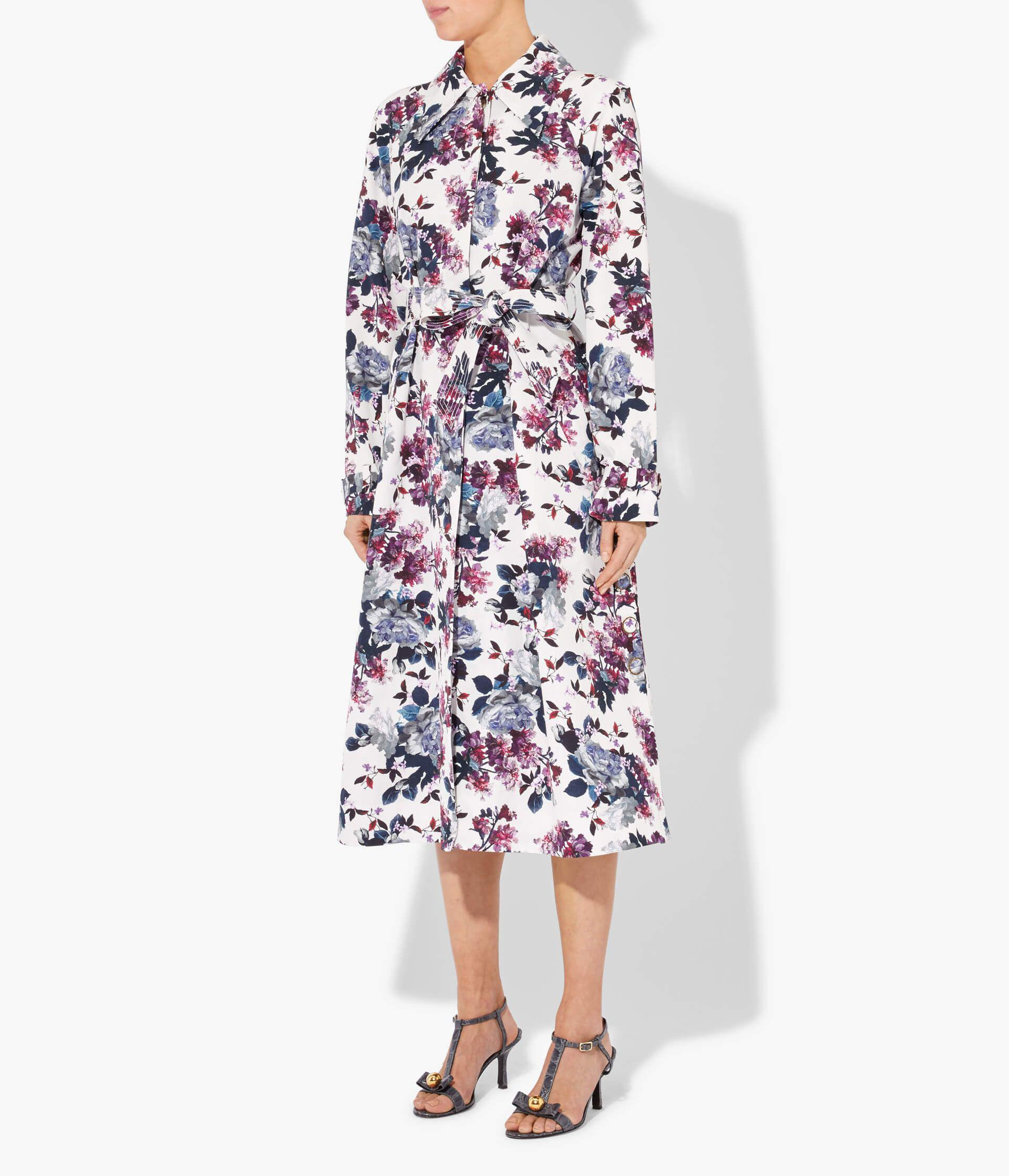 Lawrence Coat Rose Blossom Faille