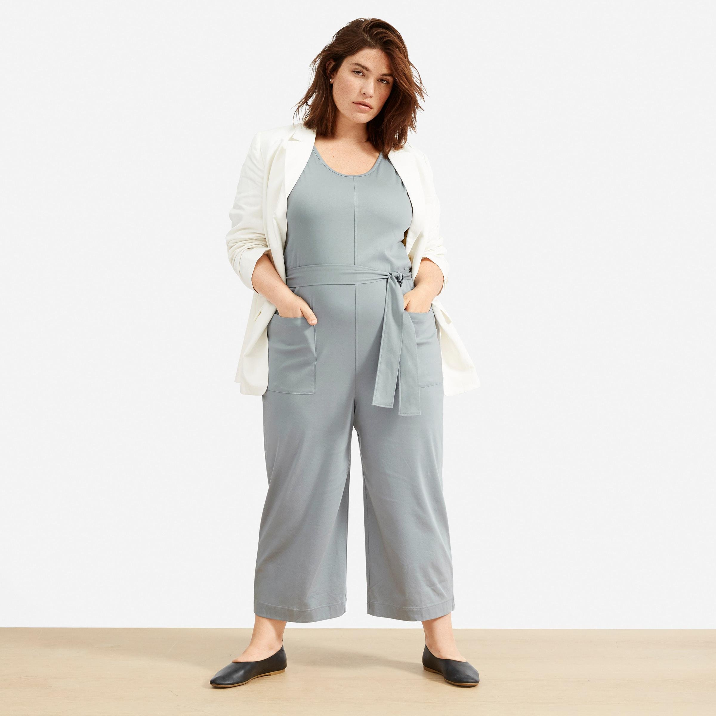 The Luxe Cotton Jumpsuit 2
