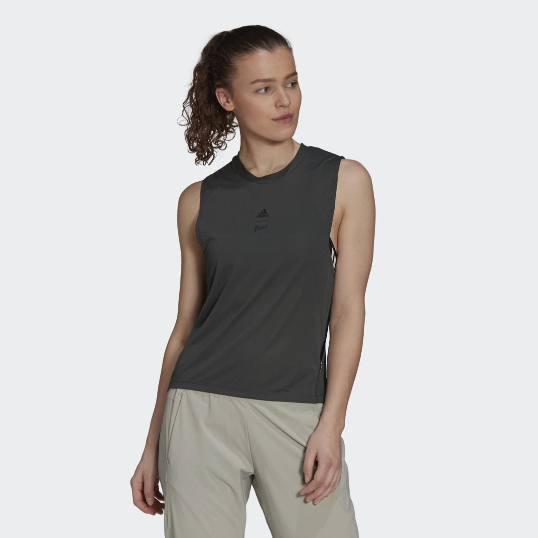 Agravic Parley Tank Top Green