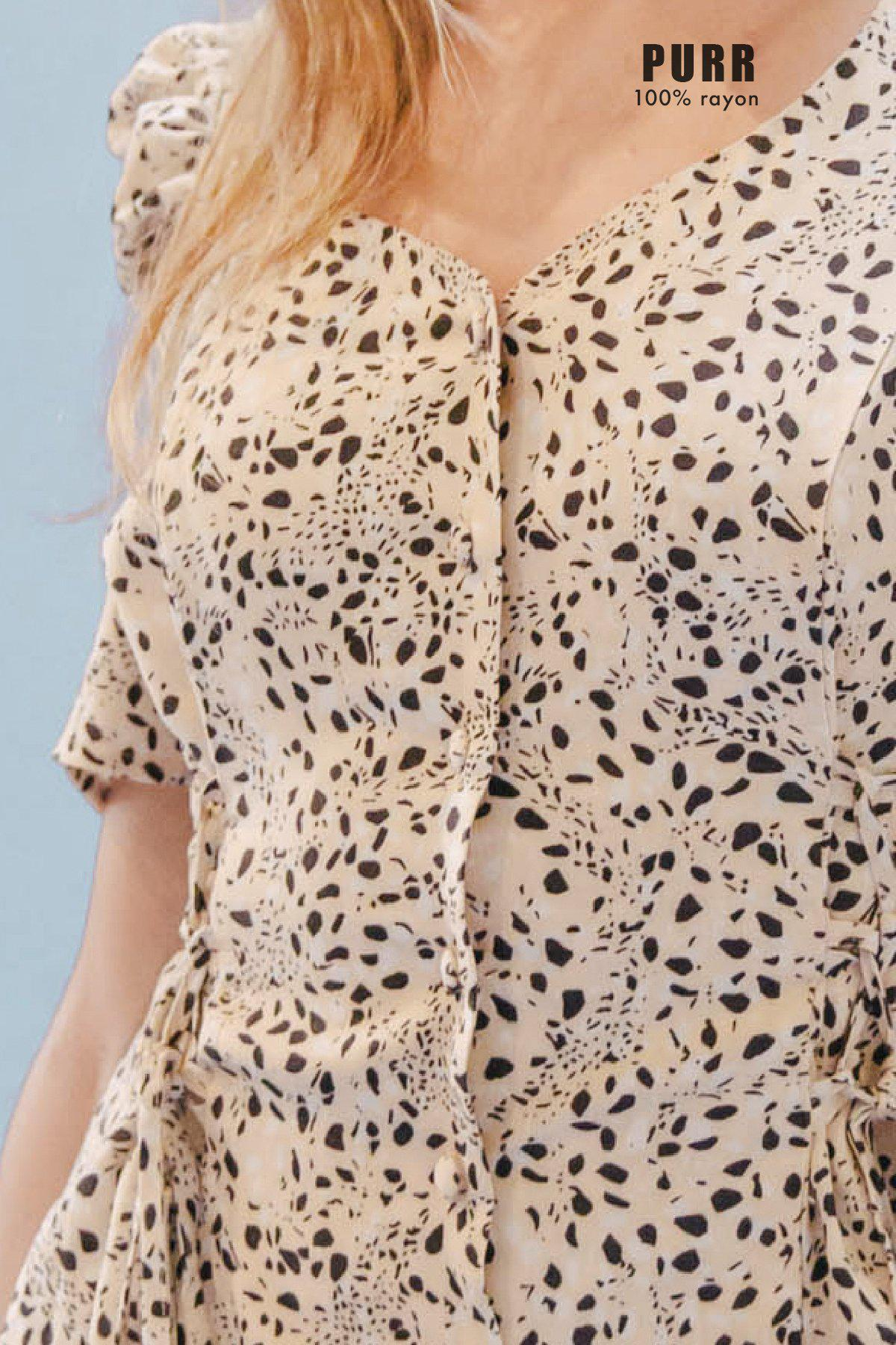 THE DOUBLE LACEUP DRESS ~ PURR 8