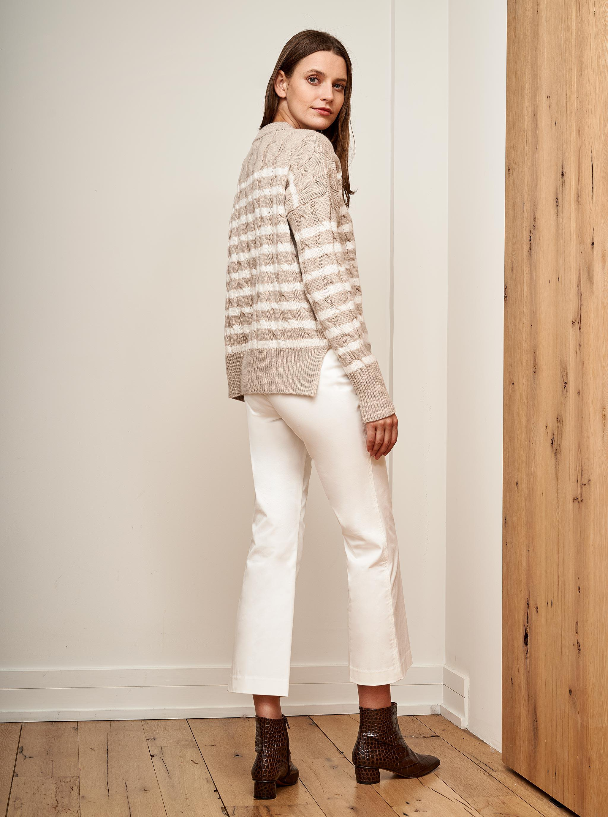 Cable Marin Sweater 2