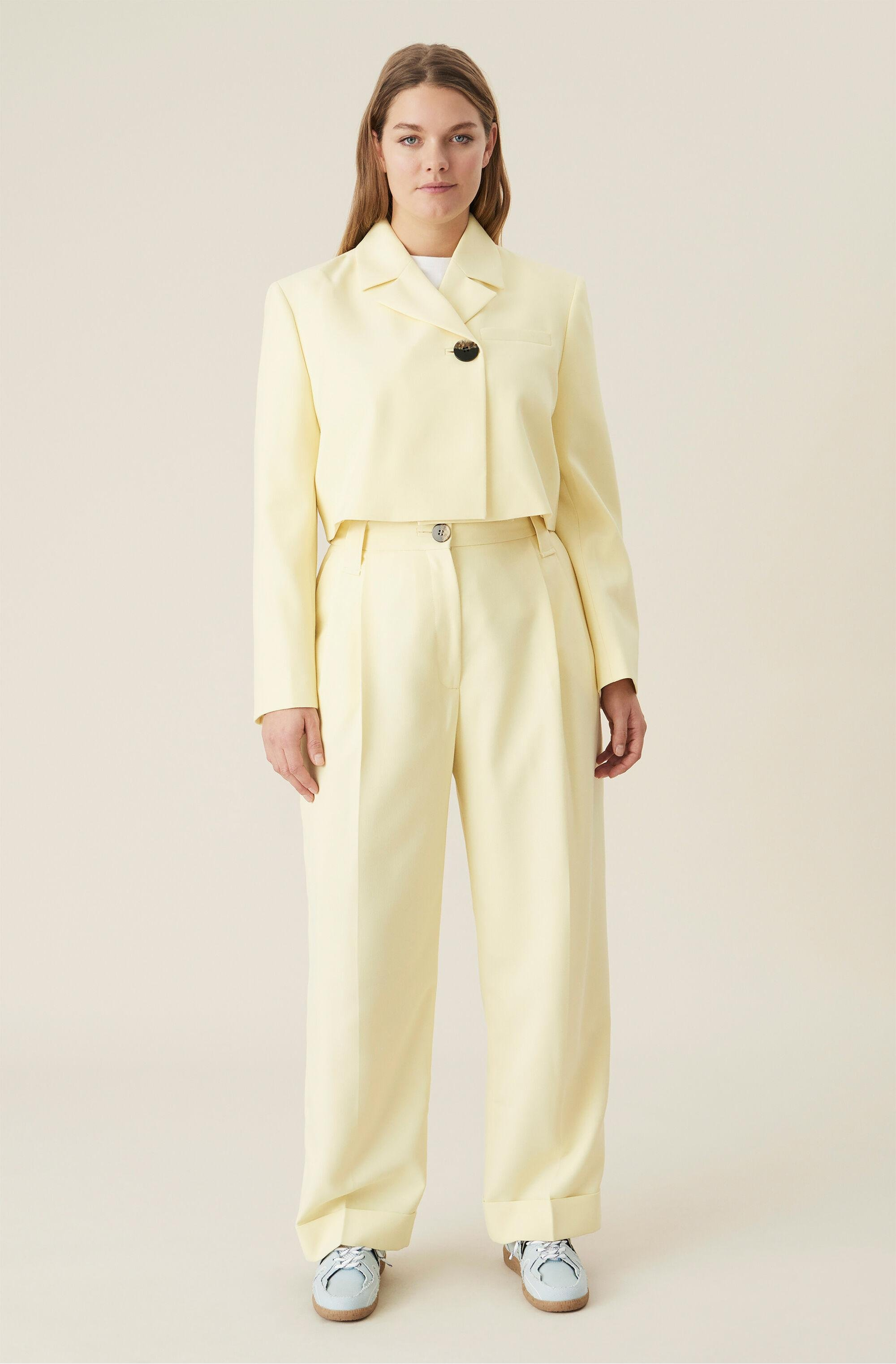 Summer Suiting Cropped Blazer 1