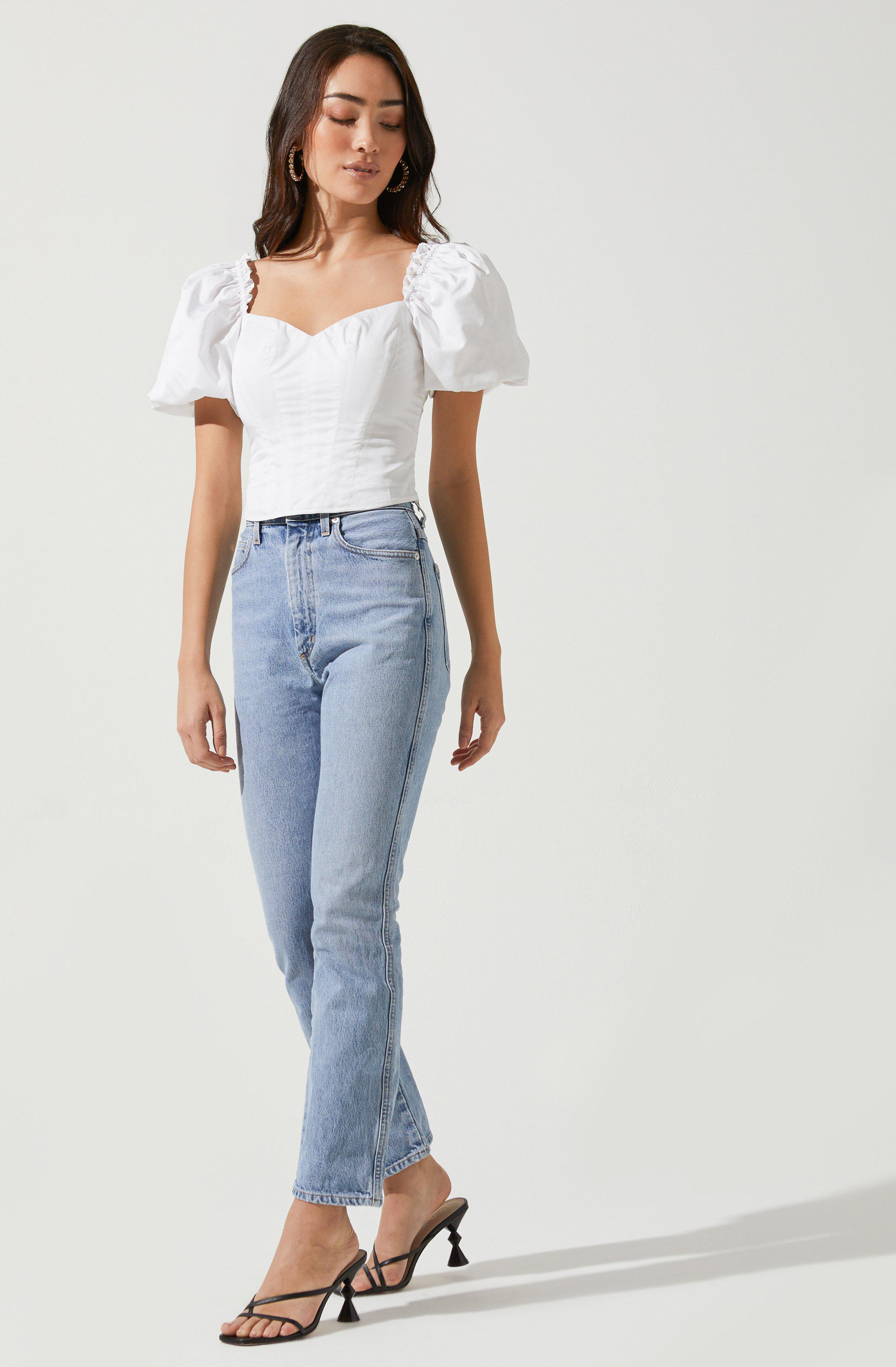 Gilmore Puff Sleeve Top 1