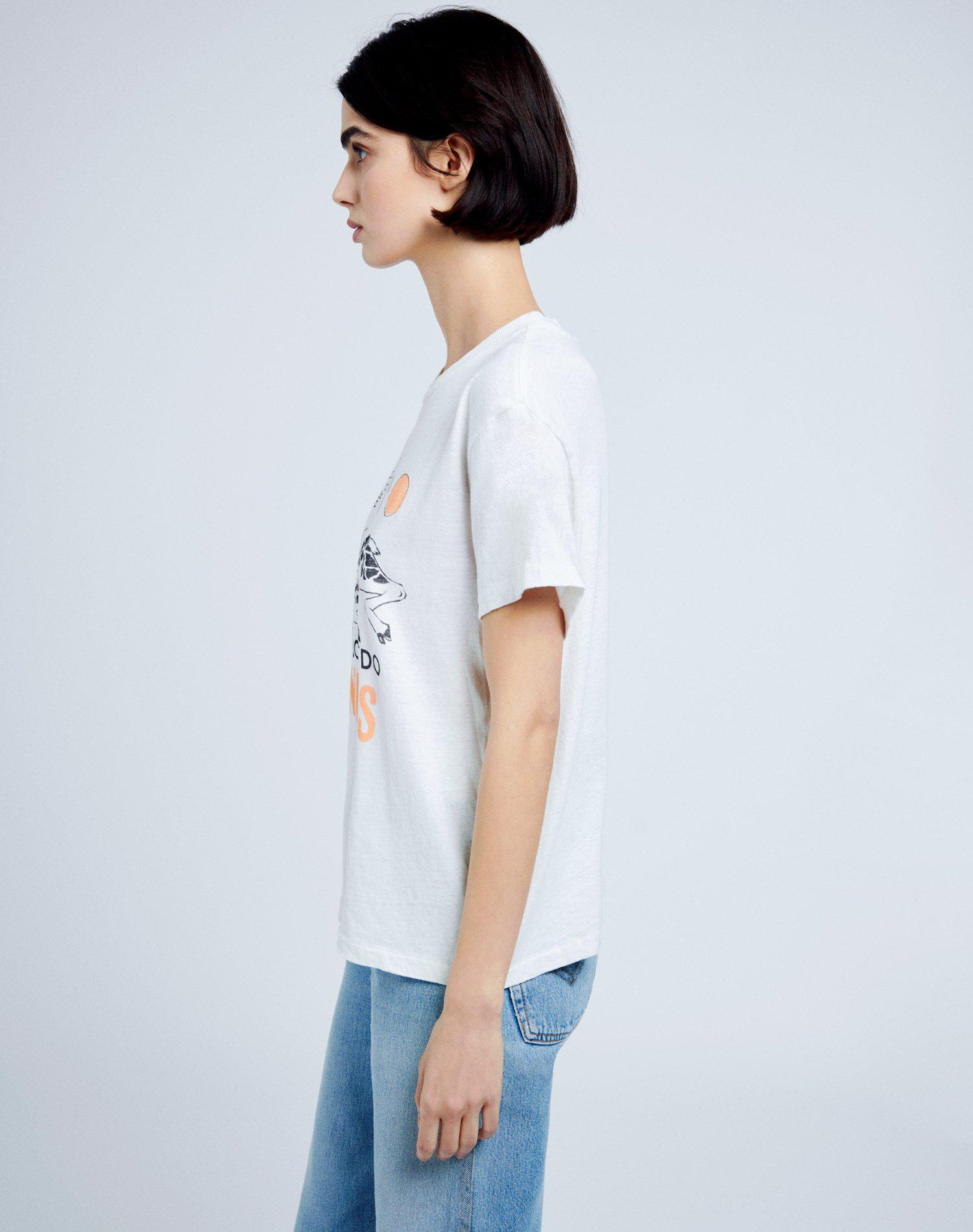 """70s Loose """"I Don't Do Mornings"""" Tee - Vintage White 3"""