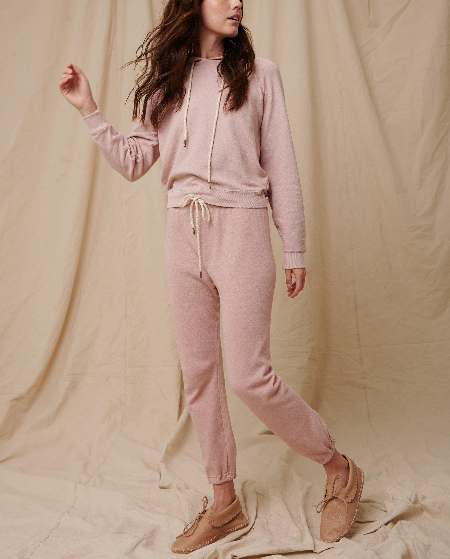 The Stadium Sweatpant. Solid -- Pink Frost 1