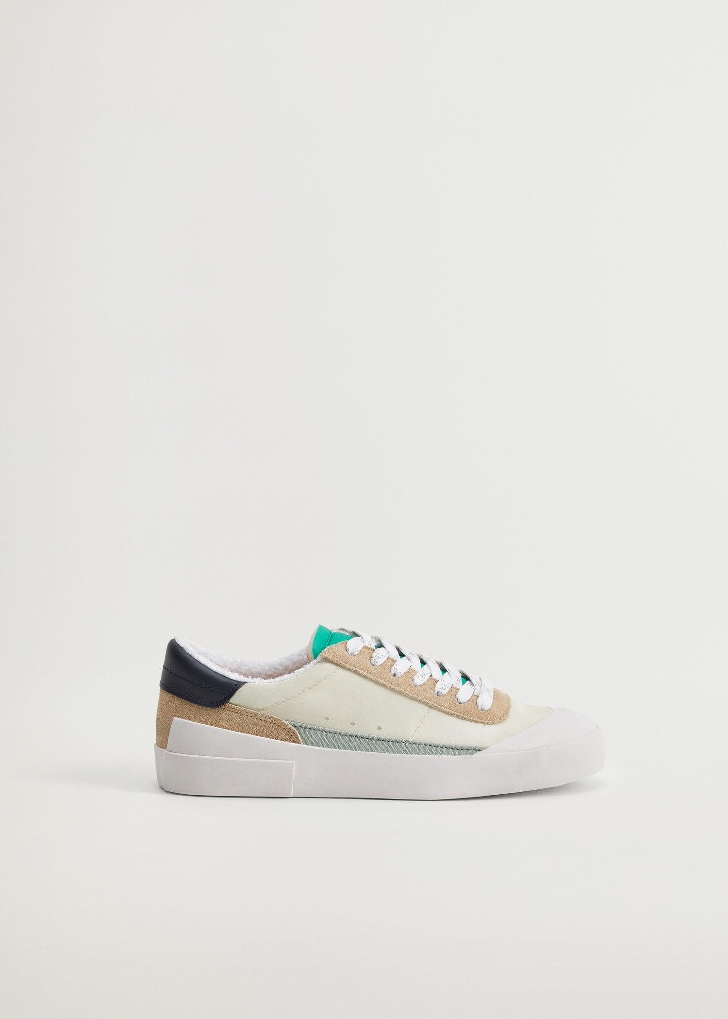 Sustainable leather sneakers