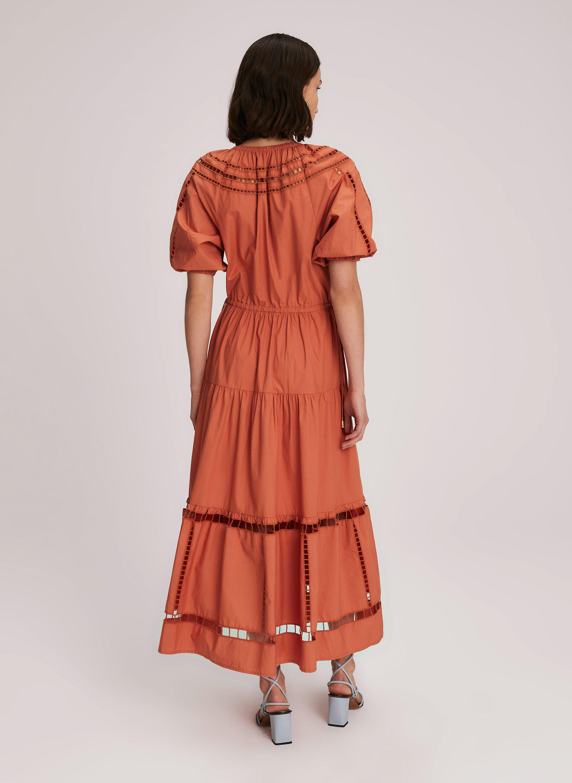 Maryn Embroidered Cotton Dress 3