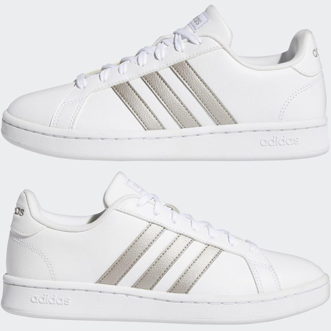 Grand Court Shoes White 6