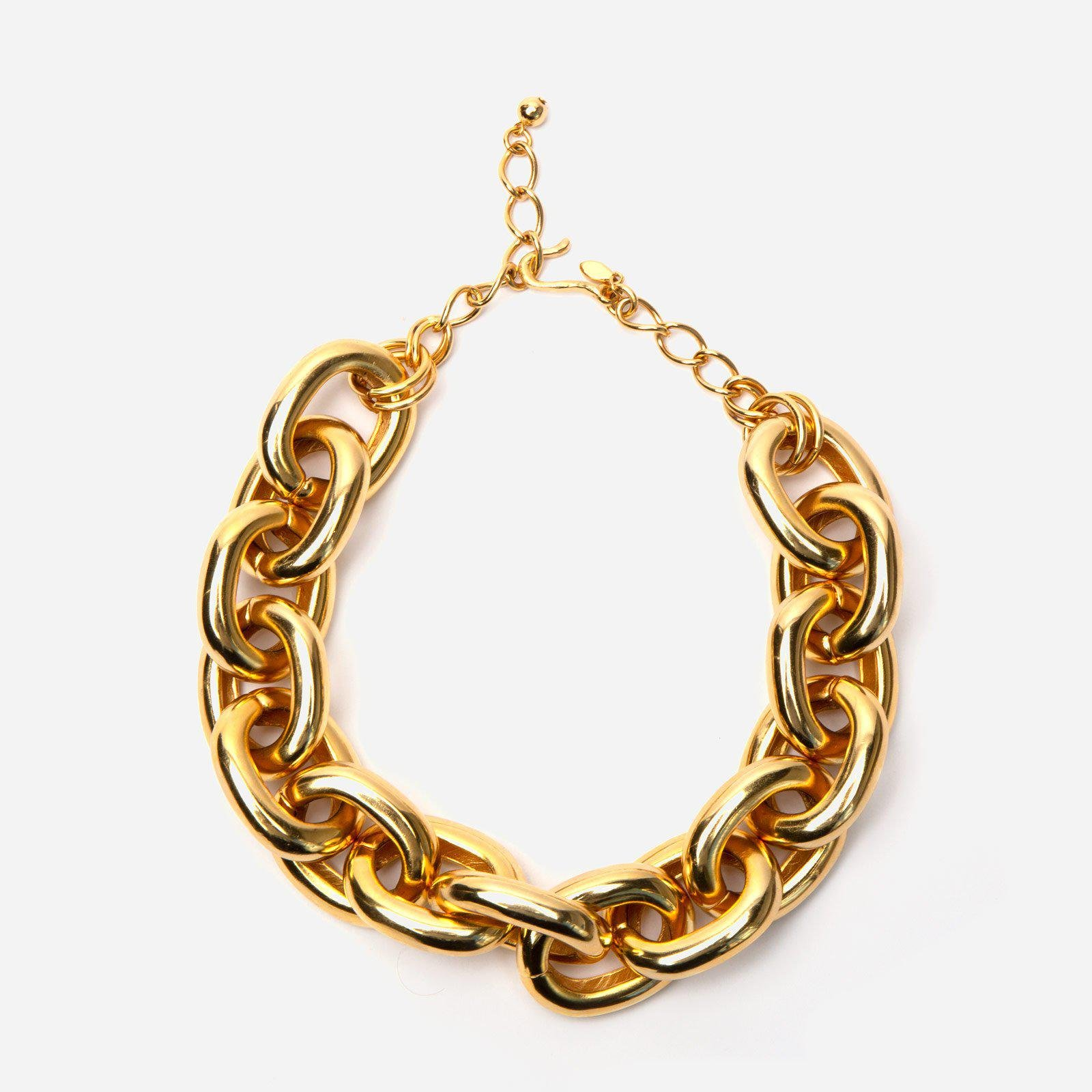 Grand Chain Link Necklace