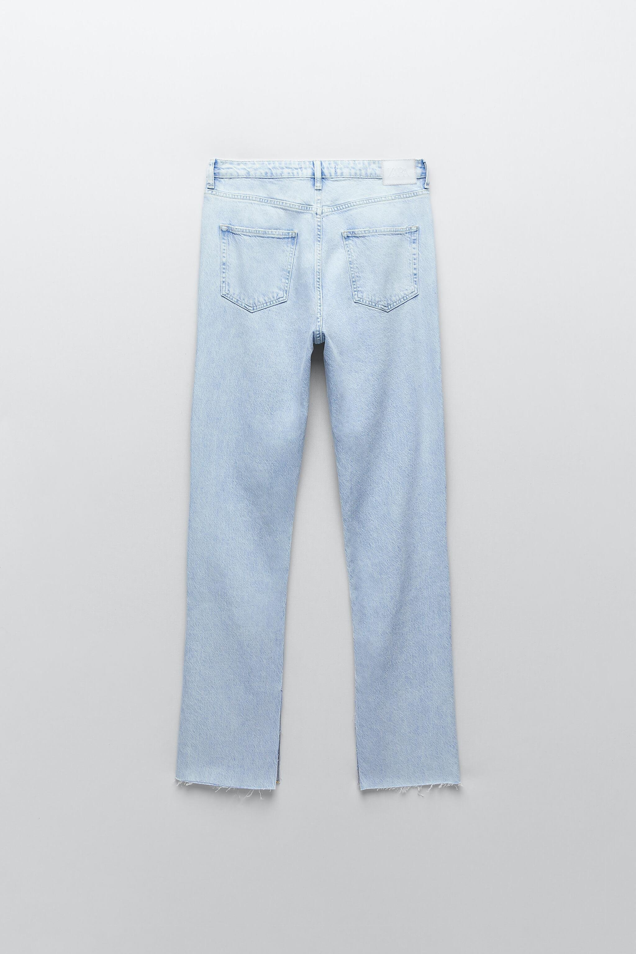 Z1975 FLARED RIPPED SLIM FIT JEANS 7
