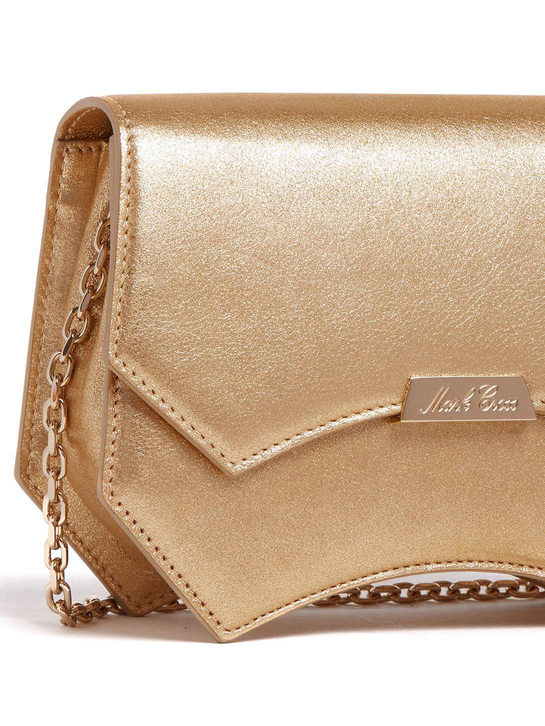 Madeline Evening Leather Clutch 1
