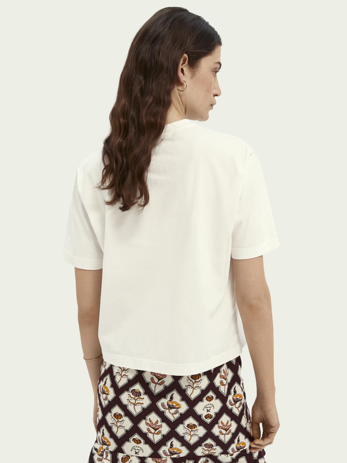 Relaxed-fit graphic organic cotton T-shirt 2