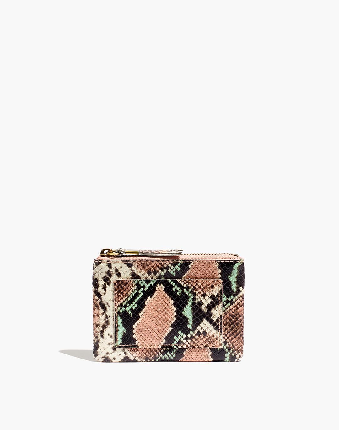 The Leather Pouch Wallet: Snake Embossed Edition