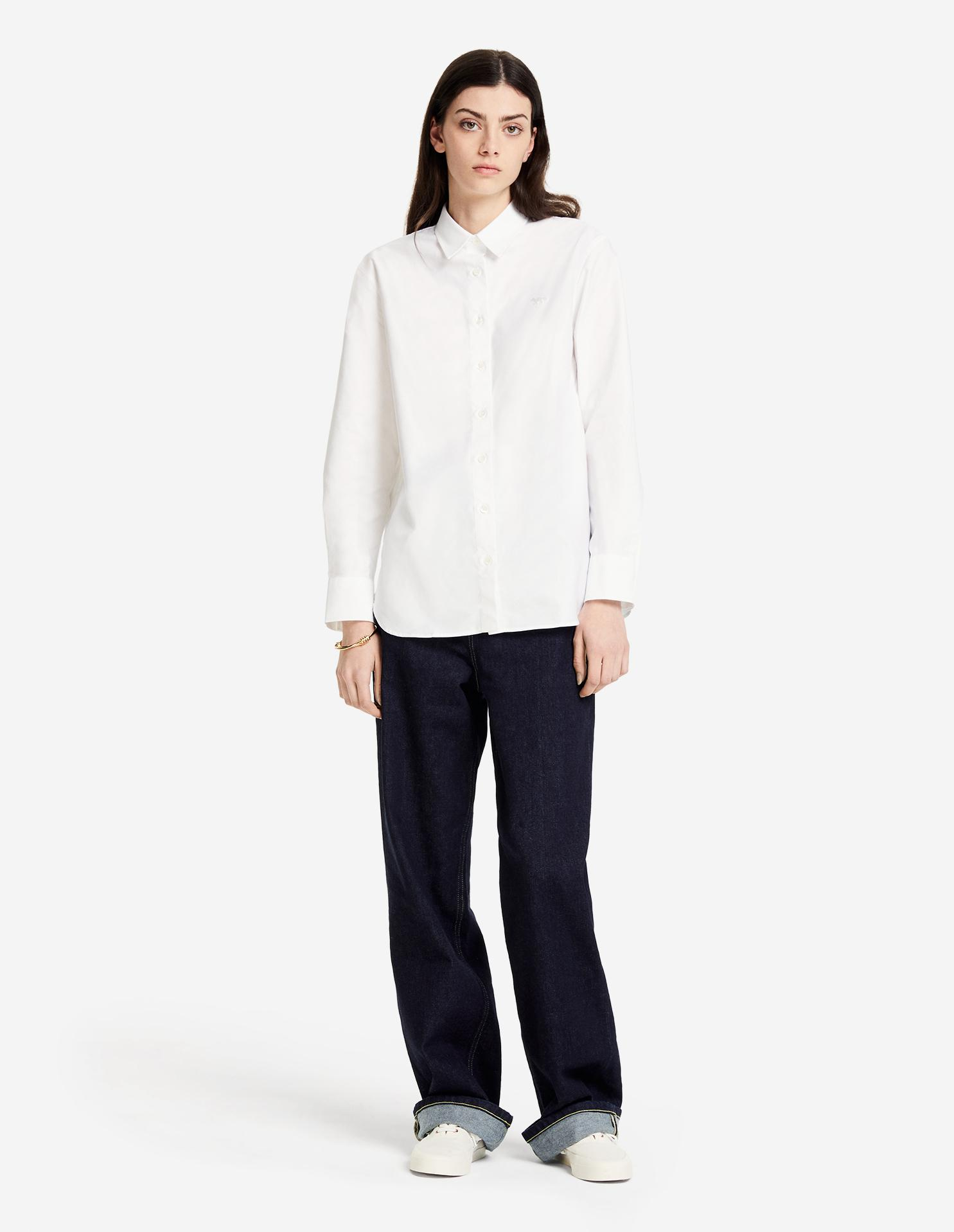 FOX EMBROIDERY CLASSIC SHIRT