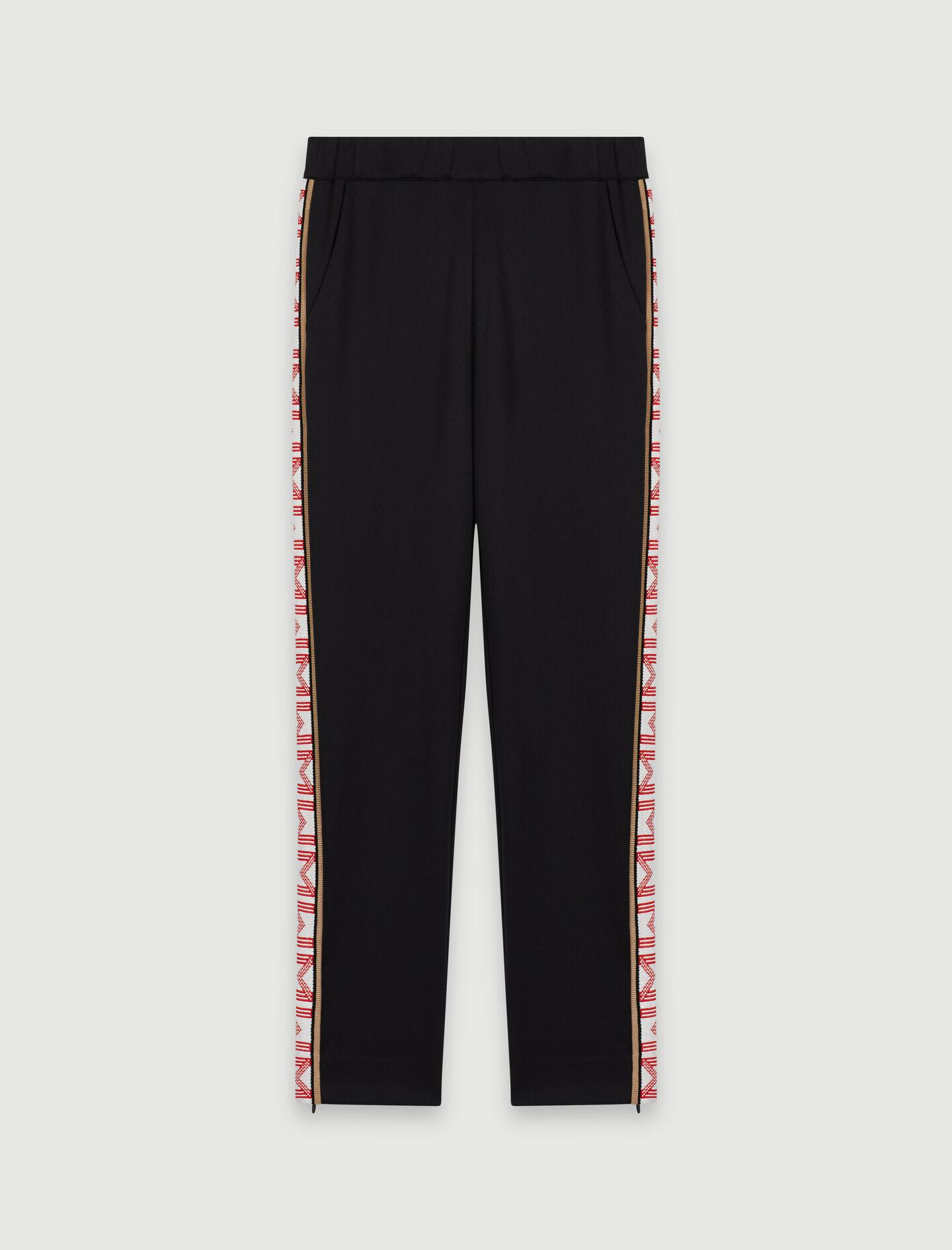 TRACKSUIT BOTTOMS WITH BANDS 5