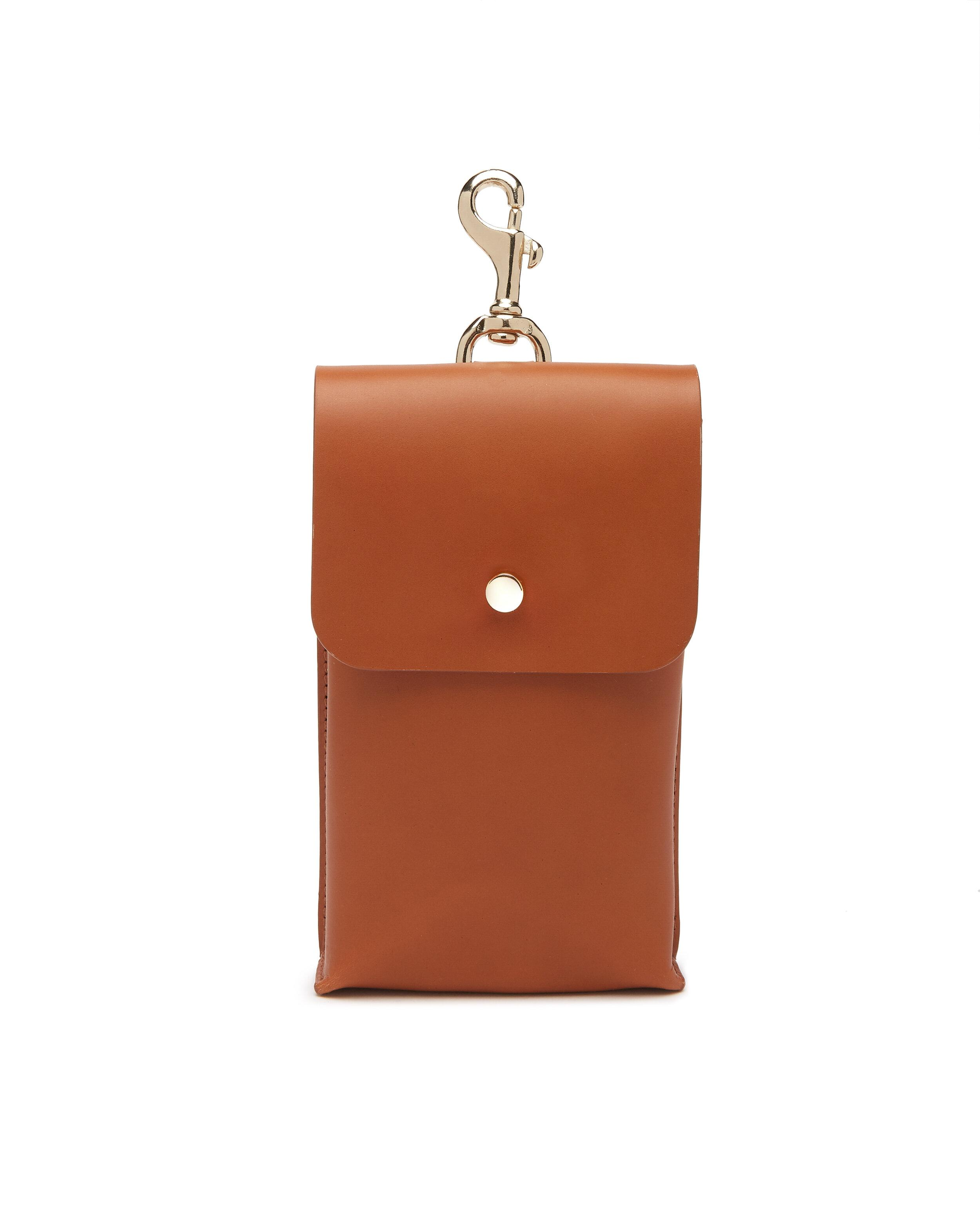 Phone Pouch - Tan Leather