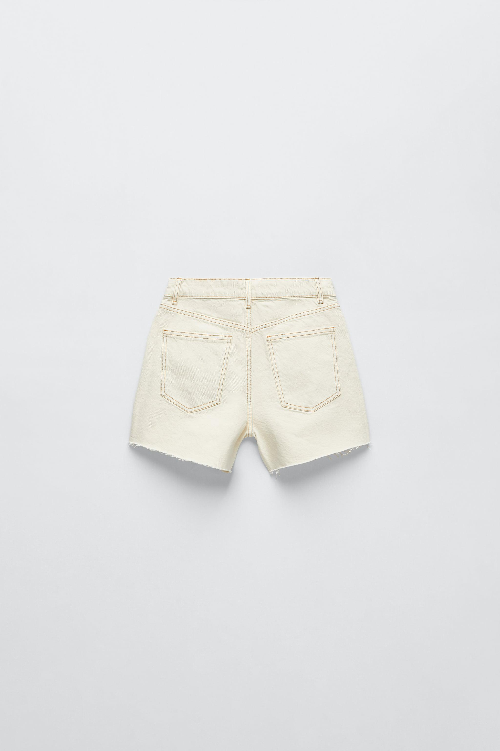 SOLID COLOR STRAIGHT SHORTS 6