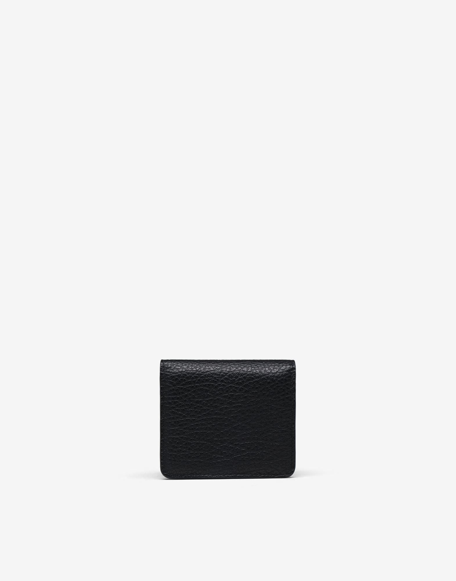 Small leather chain wallet 1