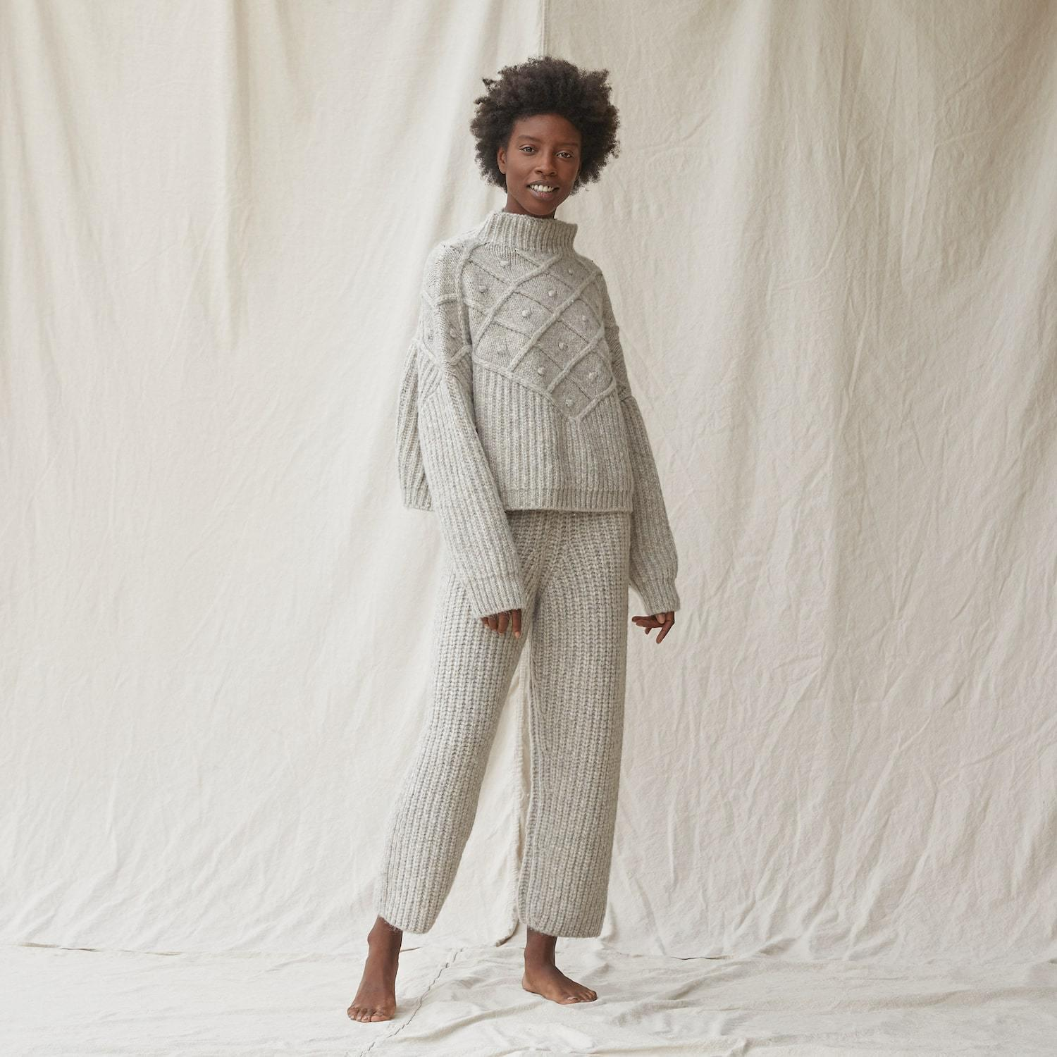 Chunky Wool Pullover 2