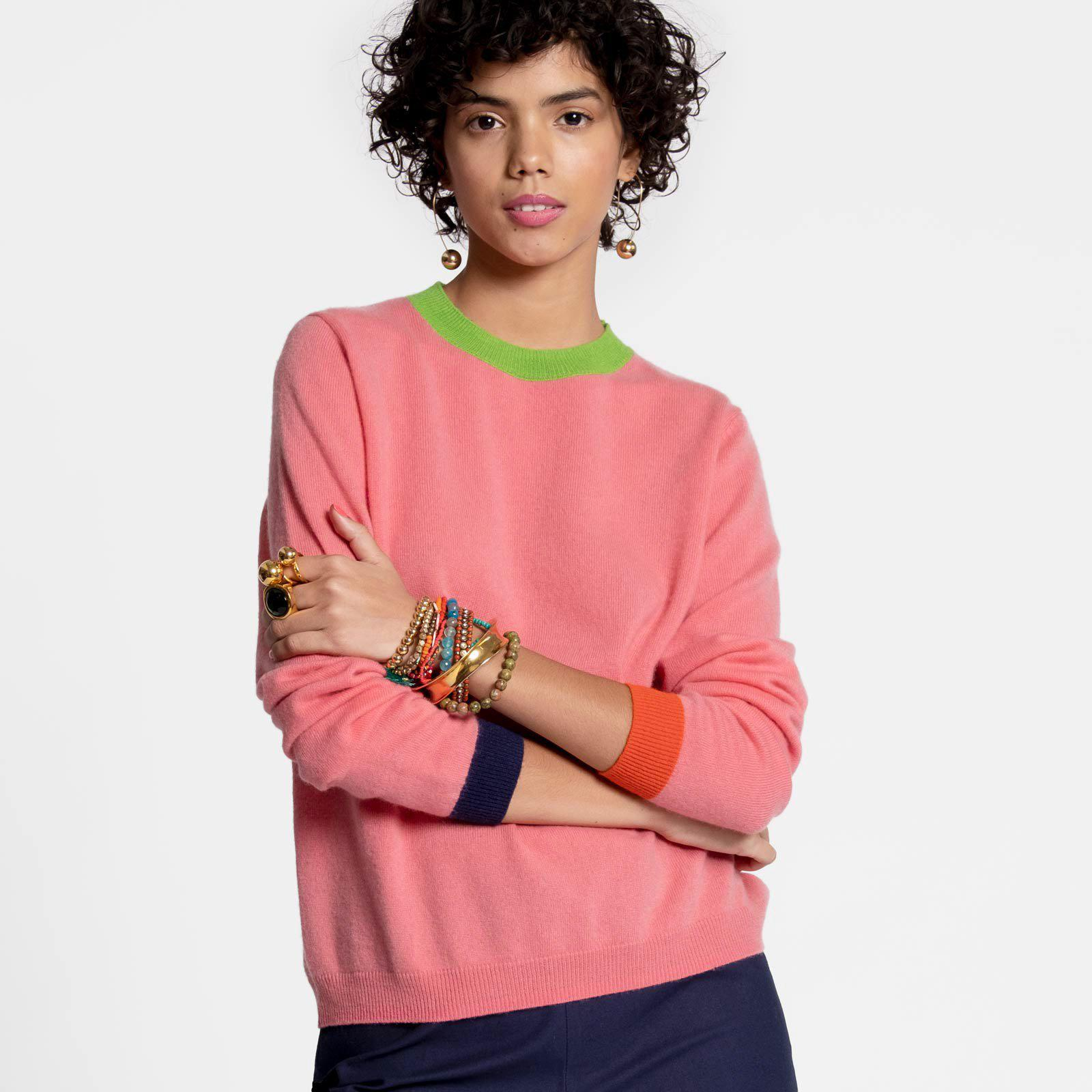 Betts Cashmere Sweater Pink