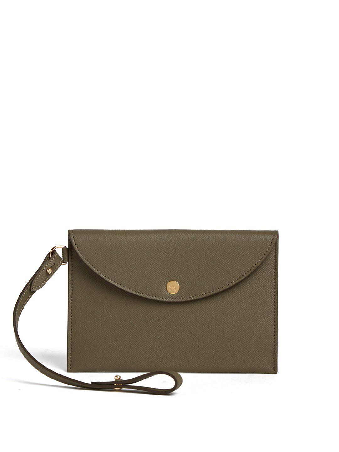Leather Essentials Pouch