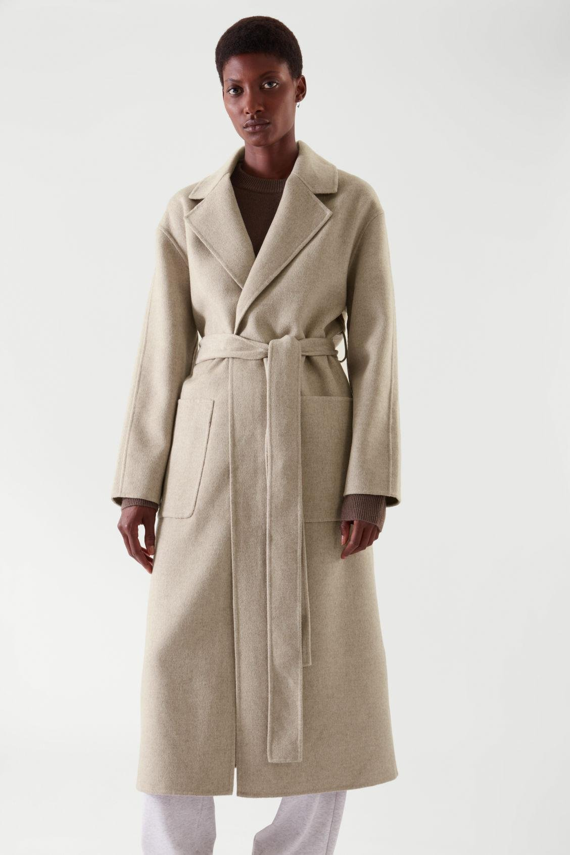 BELTED WRAP COAT 3
