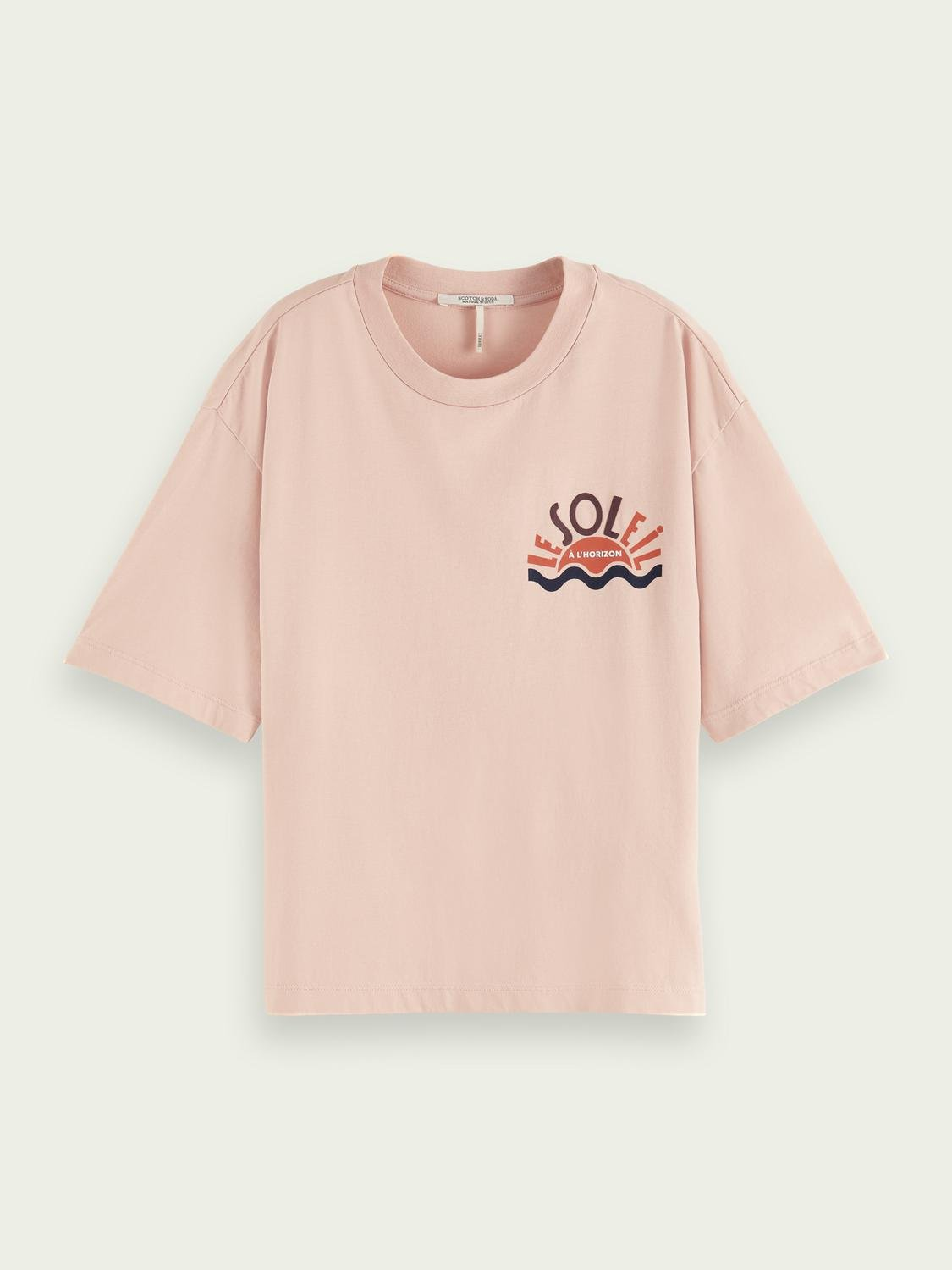 Relaxed-fit graphic organic cotton T-shirt 3