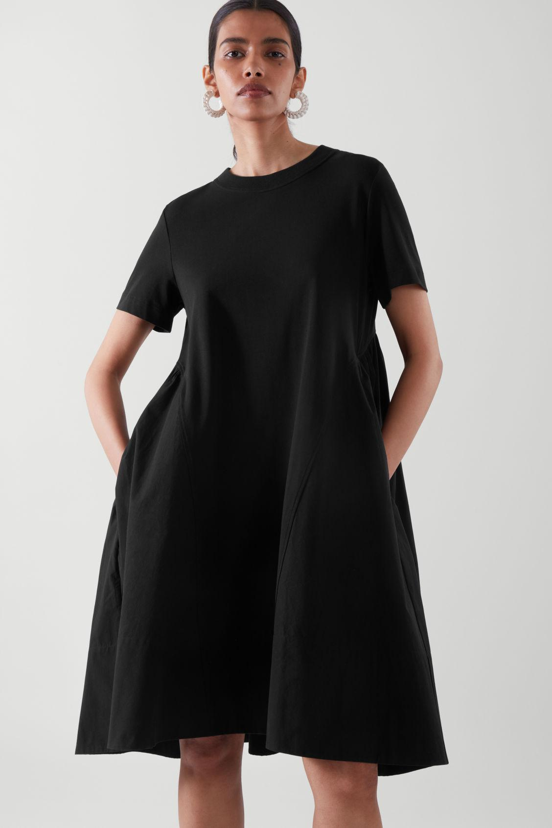 RELAXED-FIT T-SHIRT DRESS
