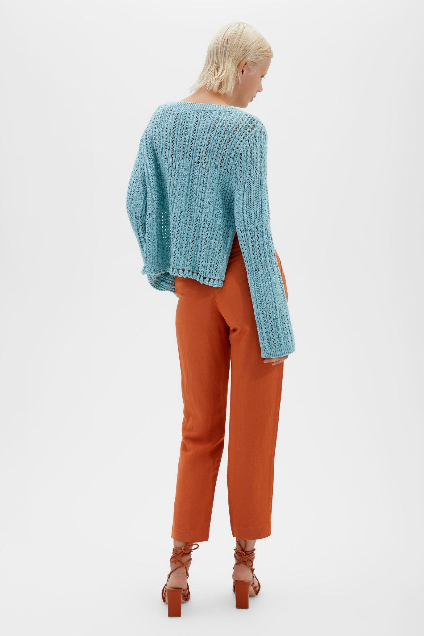 Amberly Chunky Knit Pullover 3