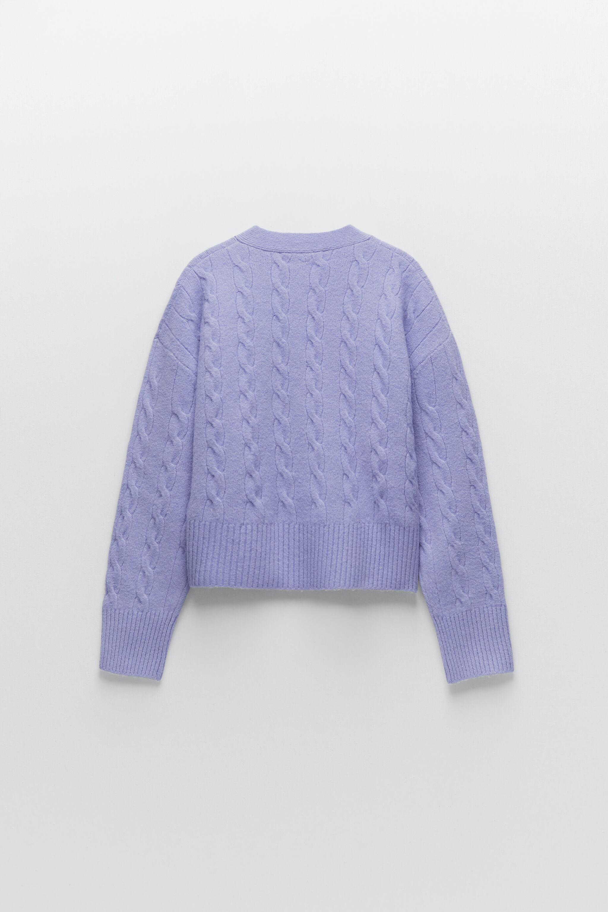 CABLE-KNIT JACKET 4