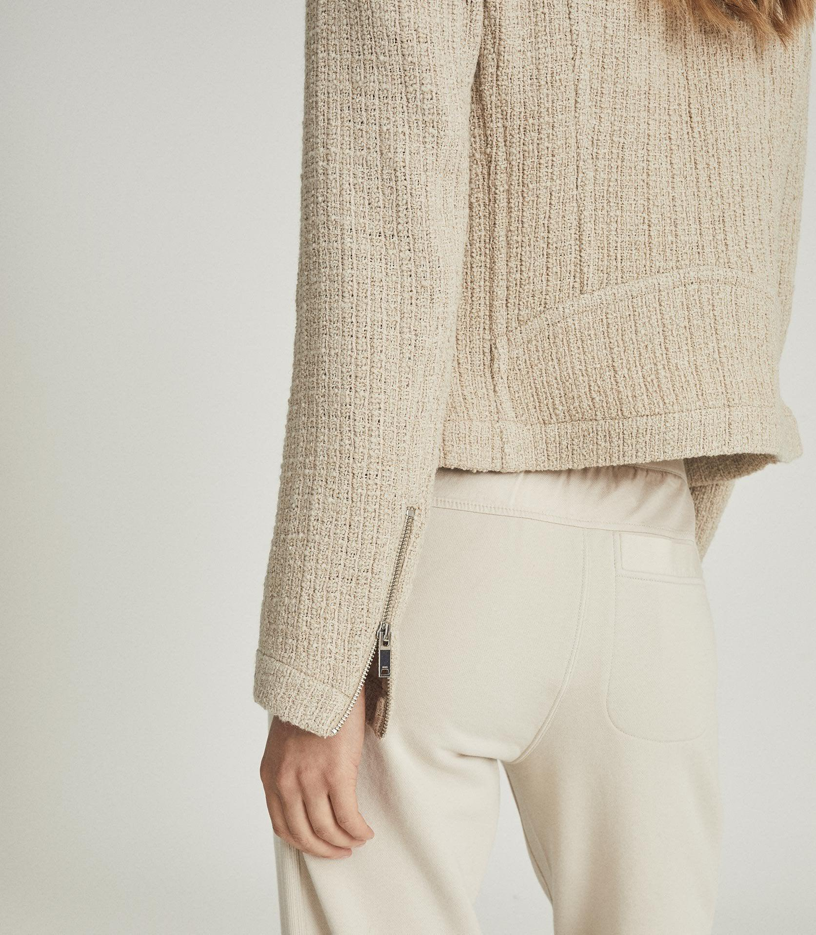 ESSIE - CROPPED BOUCLE JACKET 5
