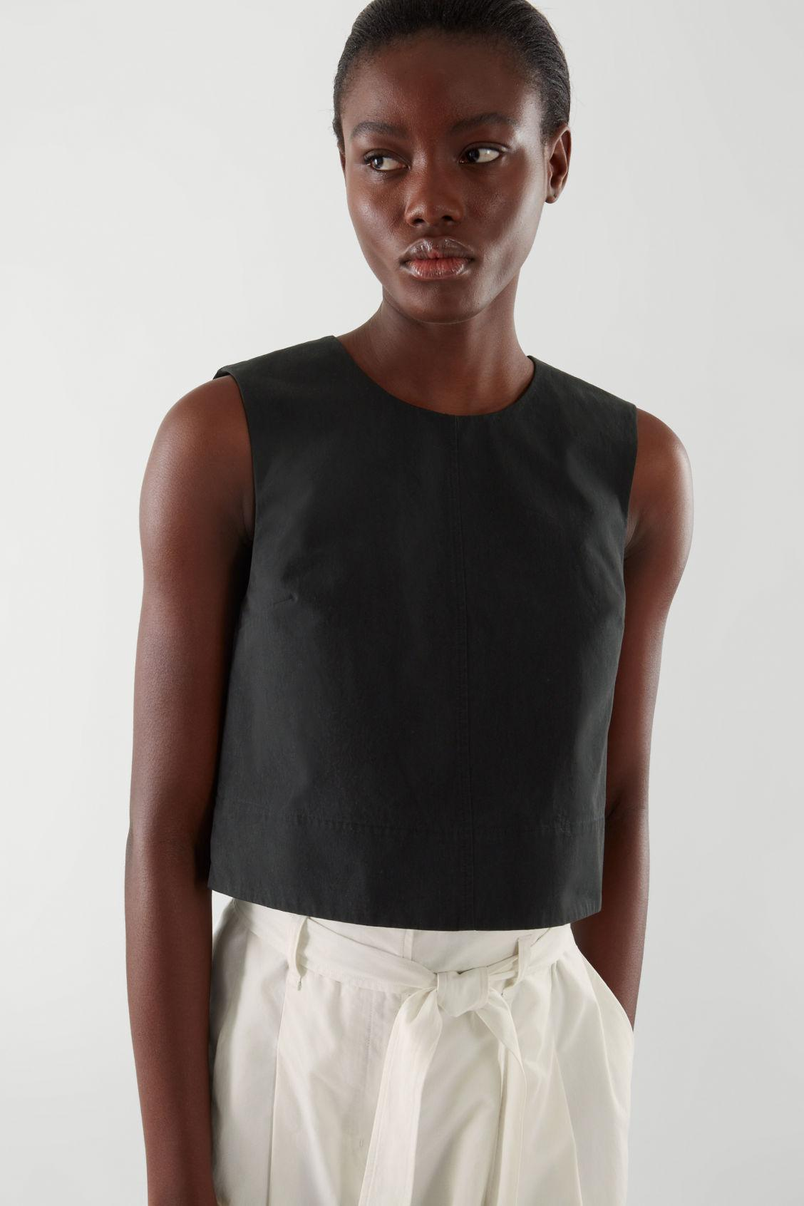 A-LINE CROPPED TOP 1