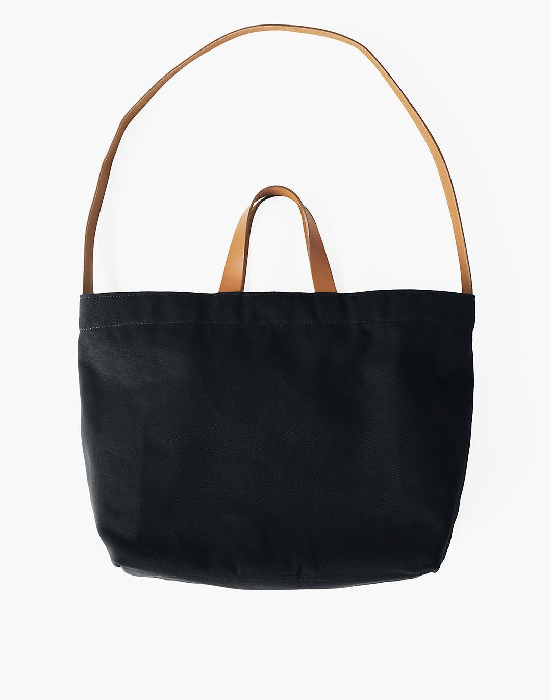 MAKR Canvas and Leather Sling Tote Bag