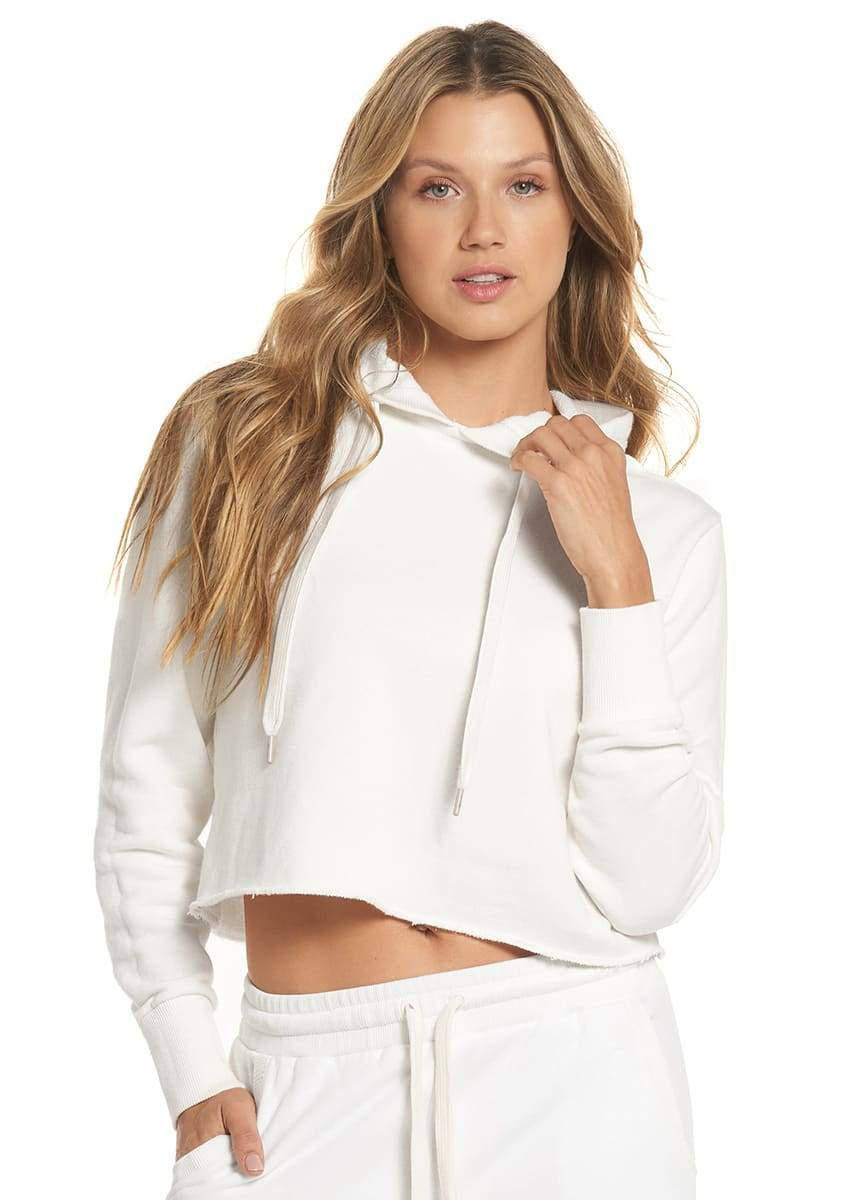 Holistay Pearl Cropped Terry Hoodie
