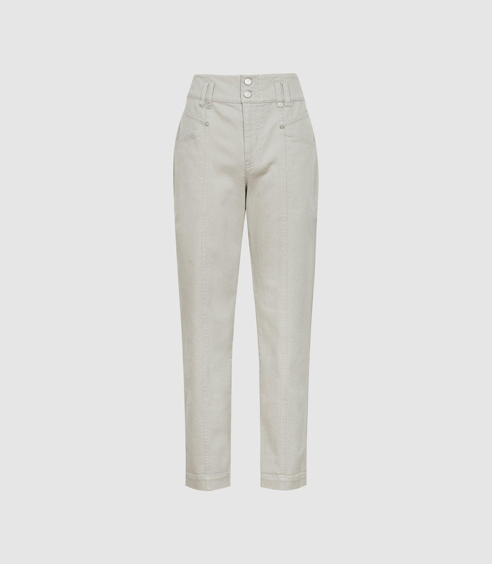 BAXTER - RELAXED TAPERED FIT TROUSERS 3