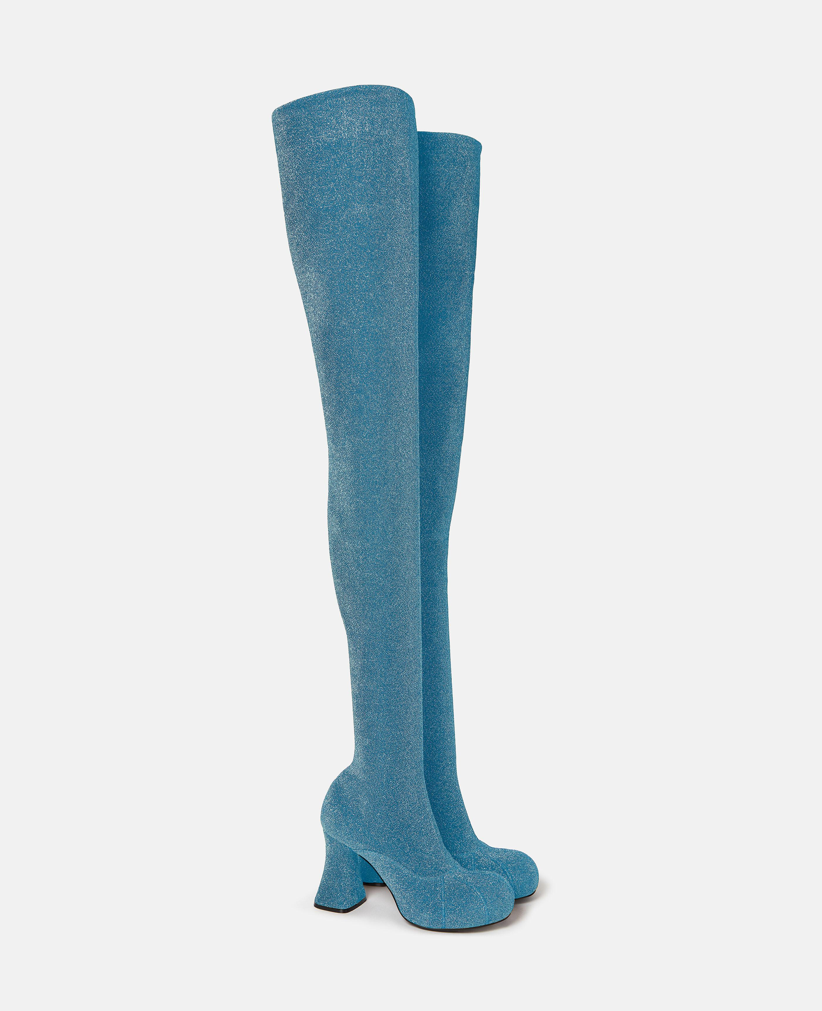 Over-The-Knee Duck City Glitter Boots