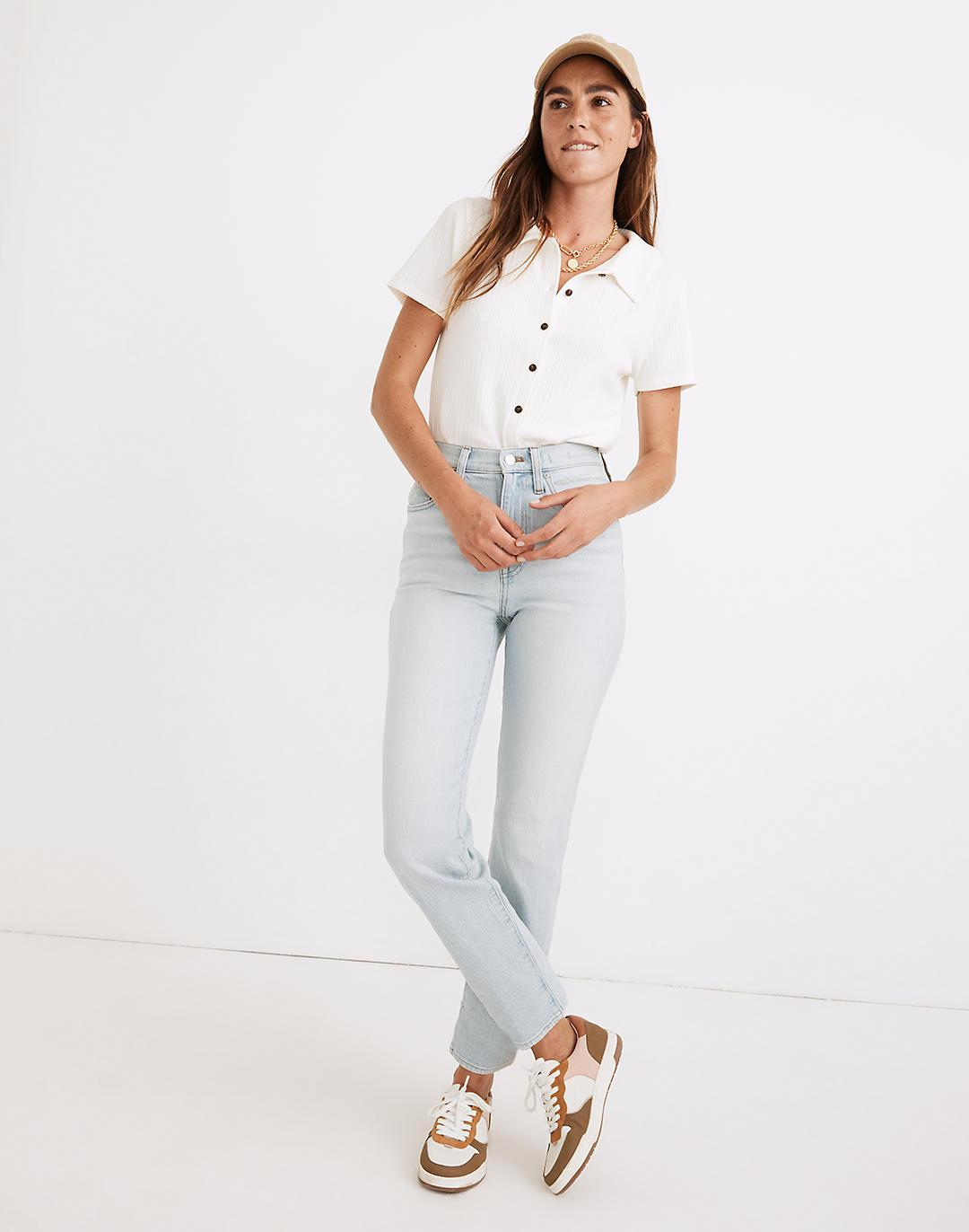 The Tall Perfect Vintage Straight Jean in Fitzgerald Wash
