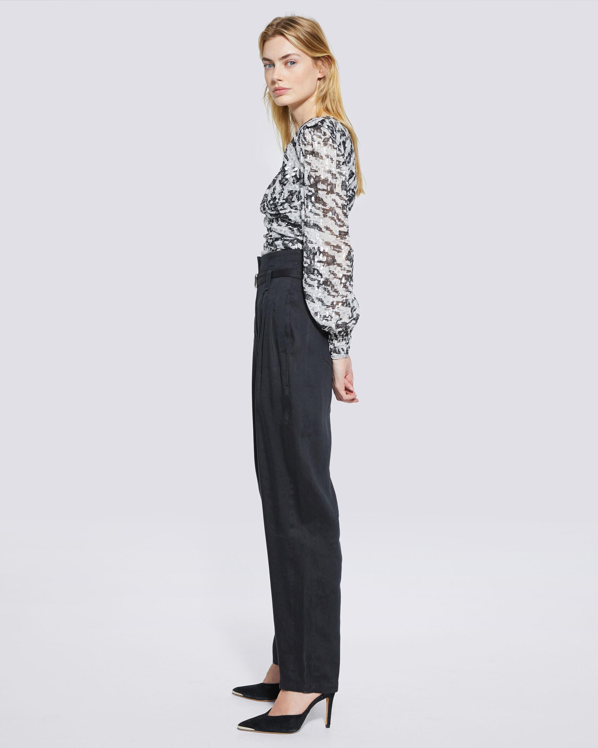 MARGATE PAPERBAG TAPERED TROUSER PANTS 1