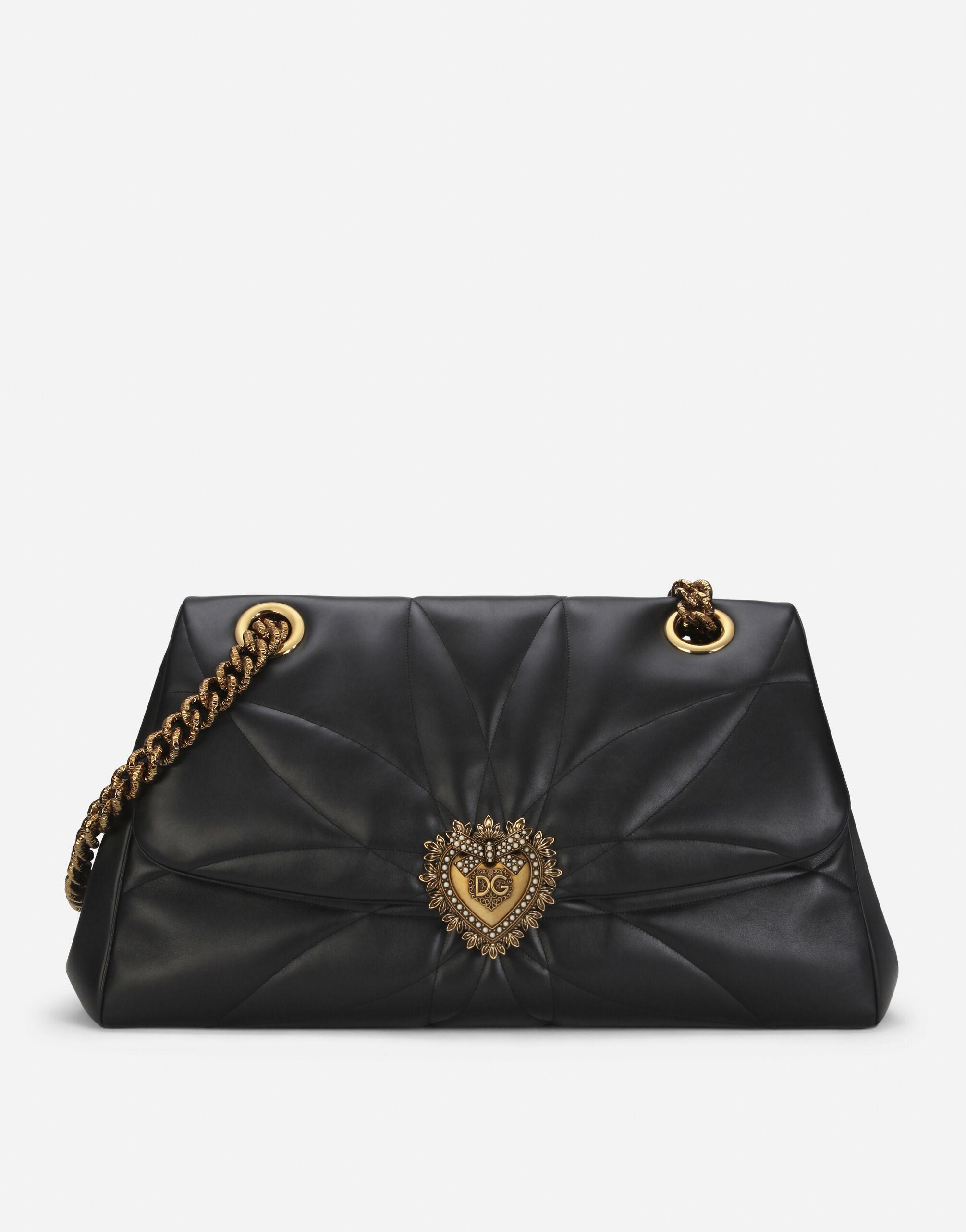 Devotion maxi-bag in quilted nappa leather